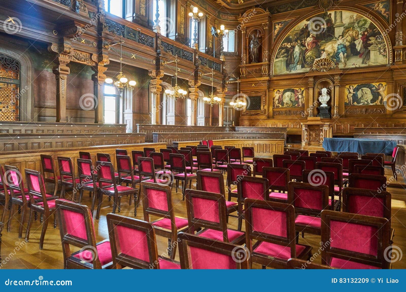 Salon à l université d Heidelberg