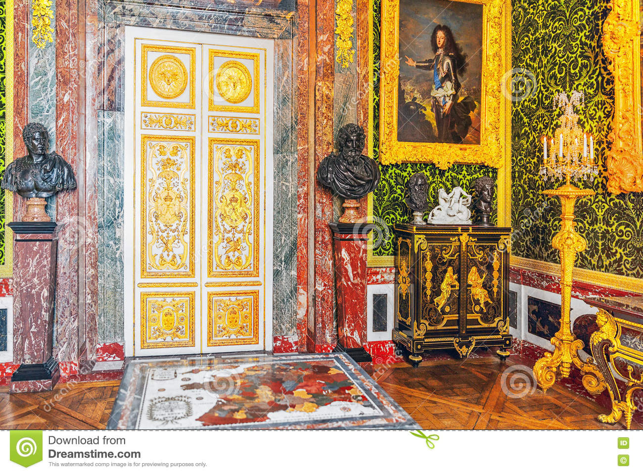 Salon of abundance is versailles editorial stock image - Salon de chat francais ...