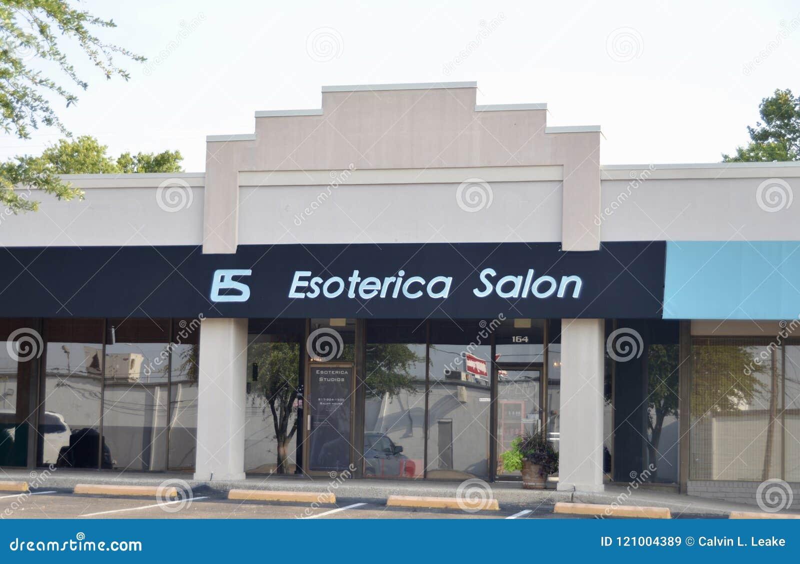 Salon d Esoterica, Fort Worth, le Texas