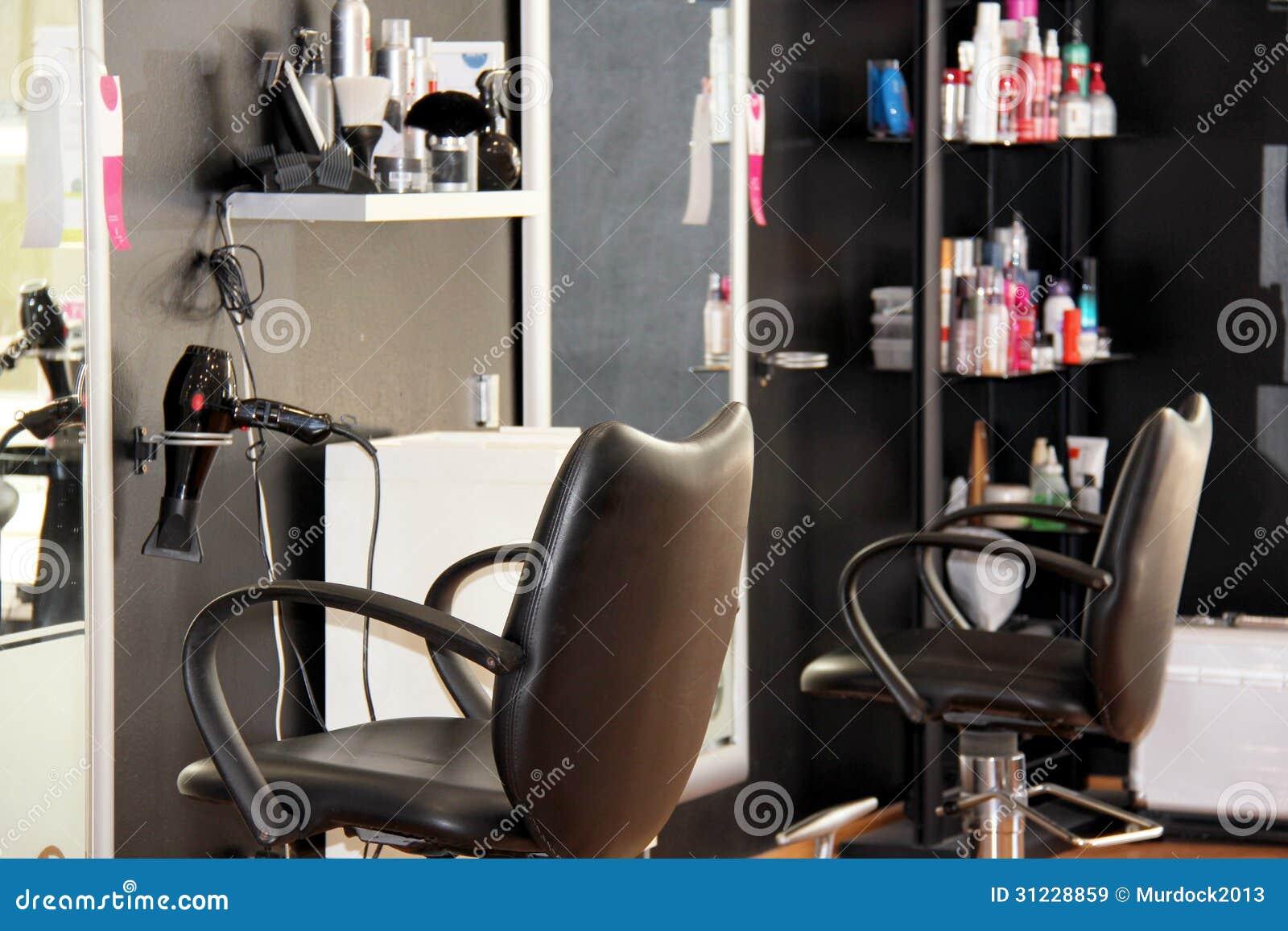 Salon de coiffure moderne image stock. Image du santé - 31228859