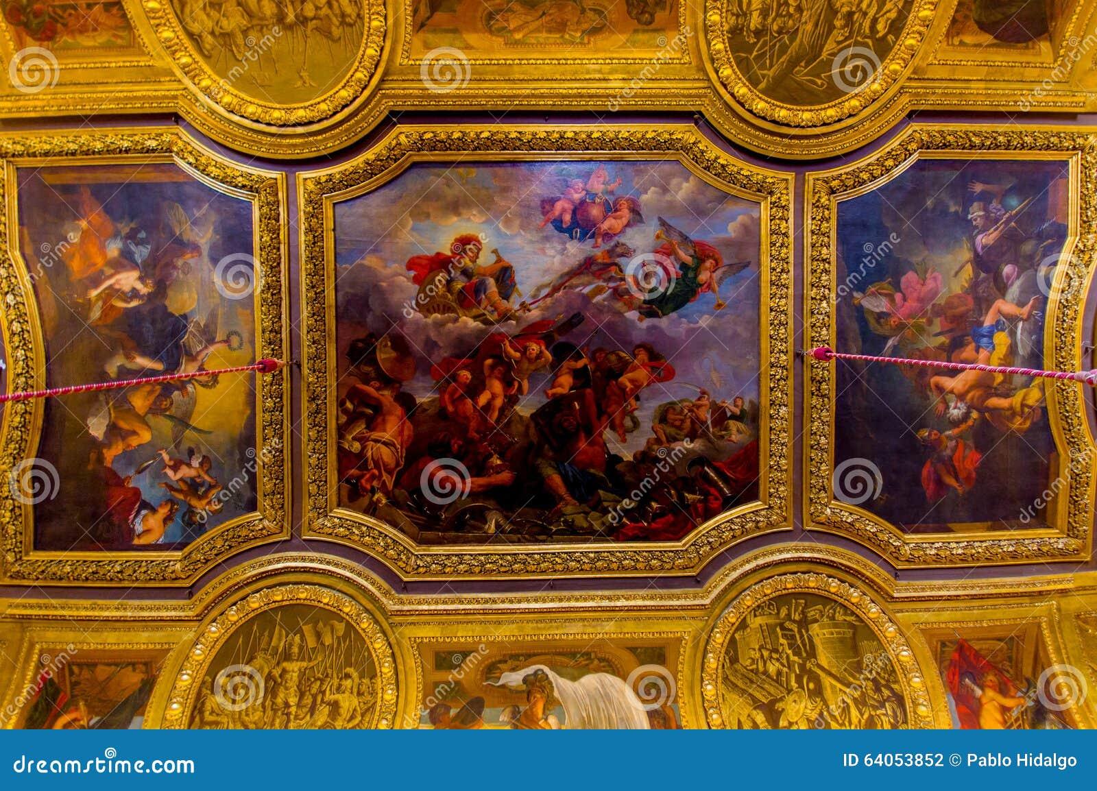 Salon de mercure palace of versailles paris editorial for Salon ce paris
