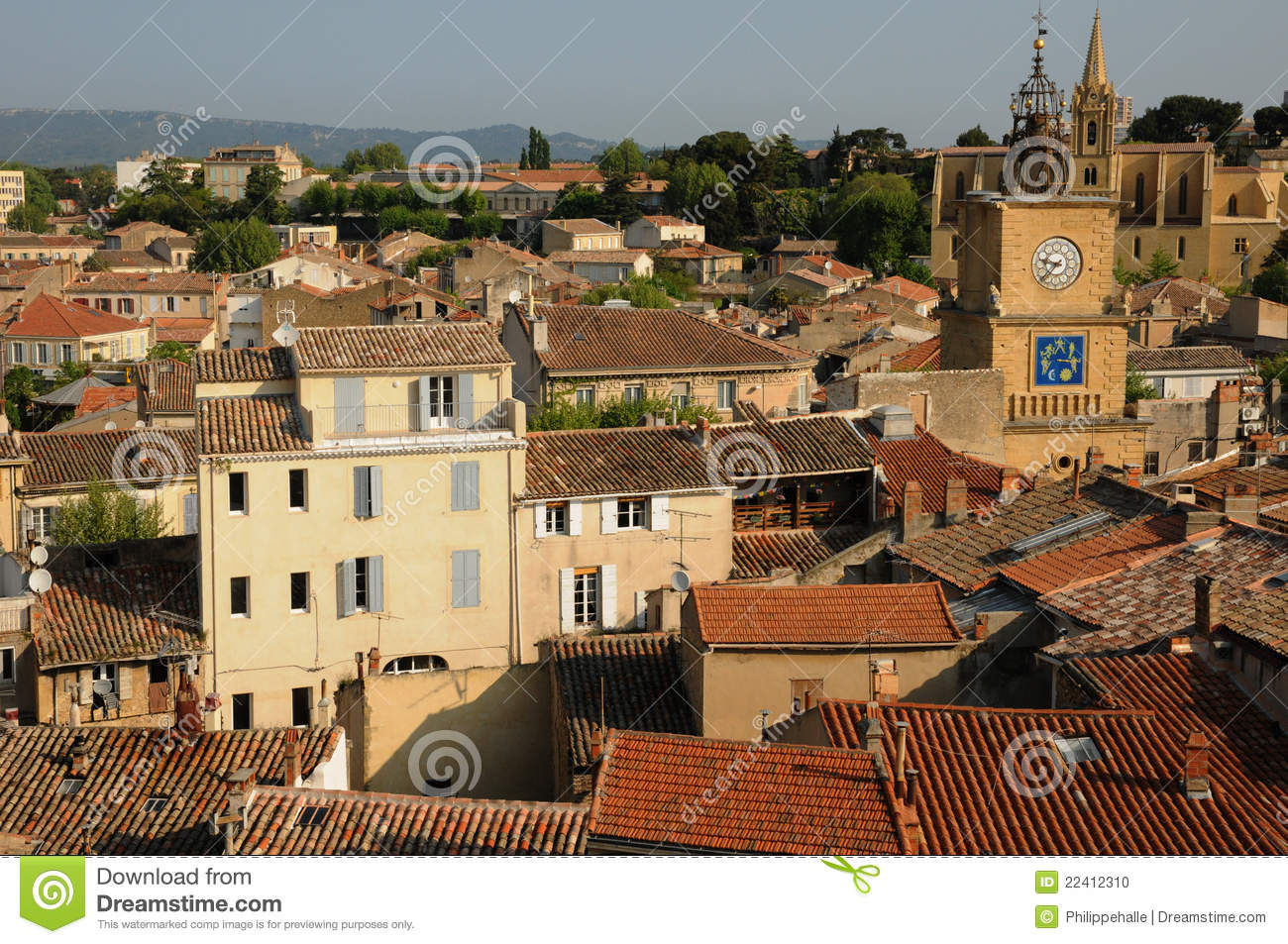 Salon de provence stock photo image 22412310 - Seat salon de provence ...