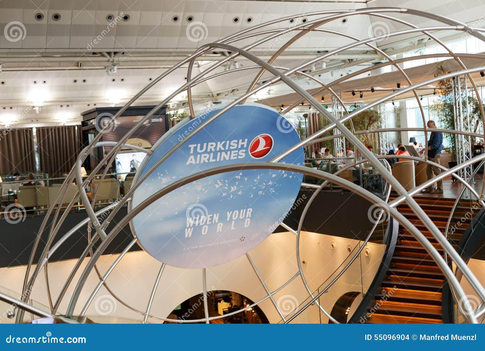 Salon de Turkish Airlines image stock éditorial. Image du ...