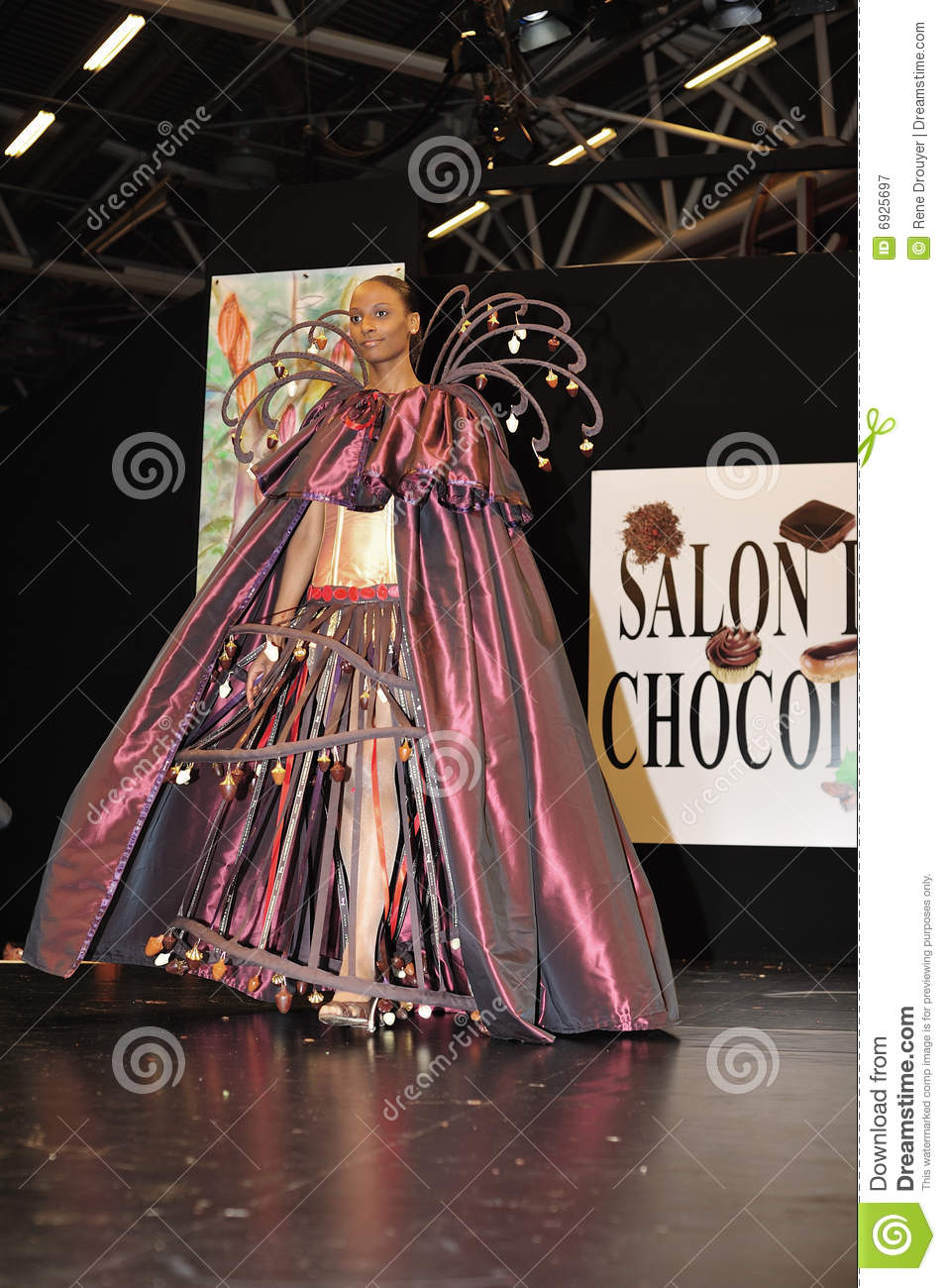 Salon du chocolat 2008 editorial photography image 6925697 for Salon du design paris