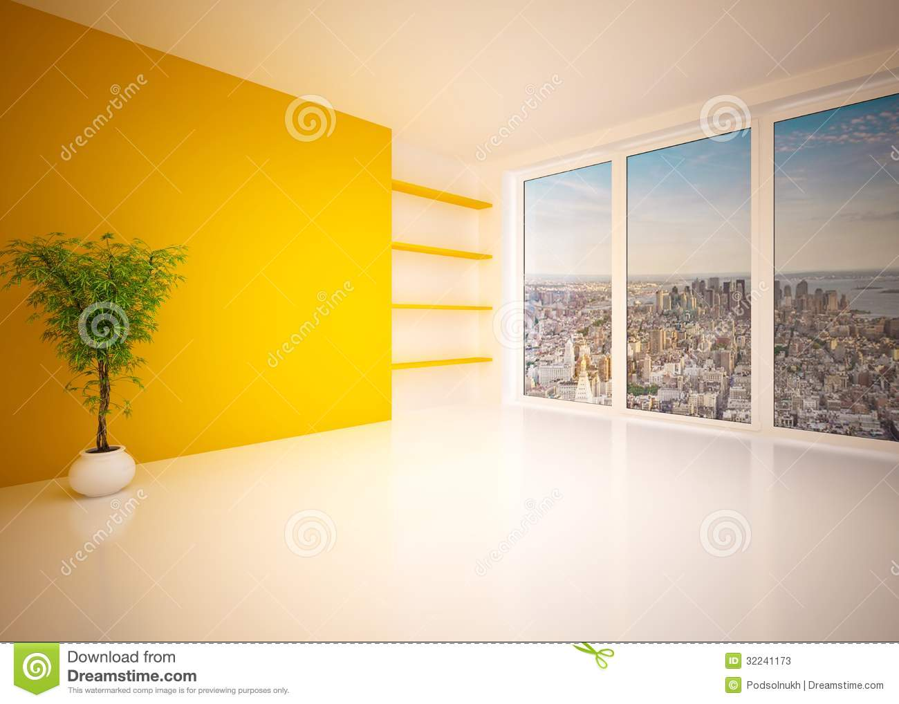 Salon int rieur moderne vide salon photos stock image for Le vide interieur