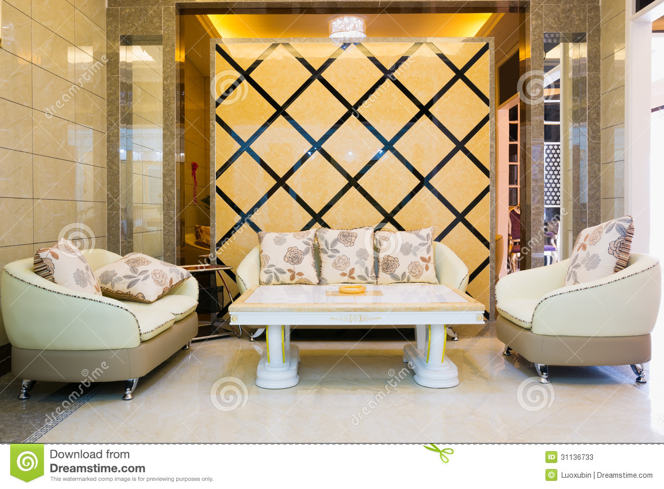 Salon moderne de luxe photos stock image 31136733 - Salon moderne ...