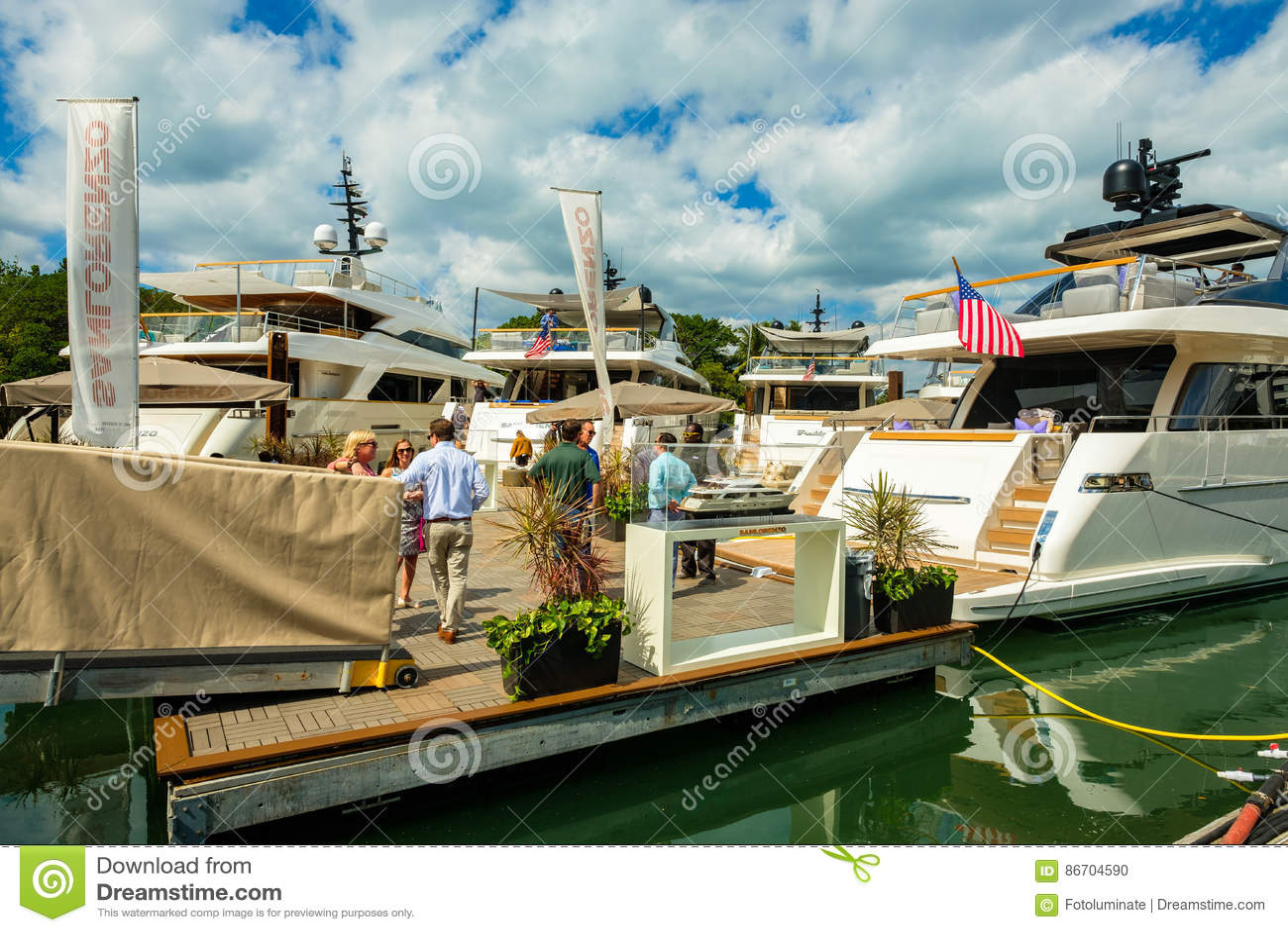 Salon nautique d International de Miami