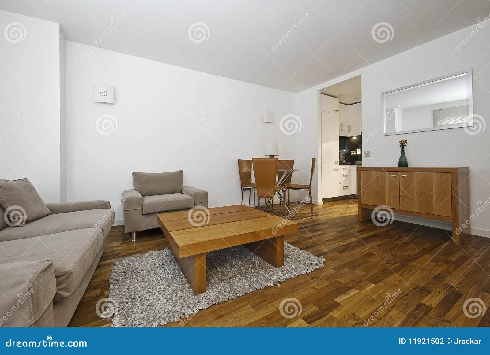 Salon ouvert moderne de plan photo stock image du appartement int rieur 11921502 - Salon ouvert ...