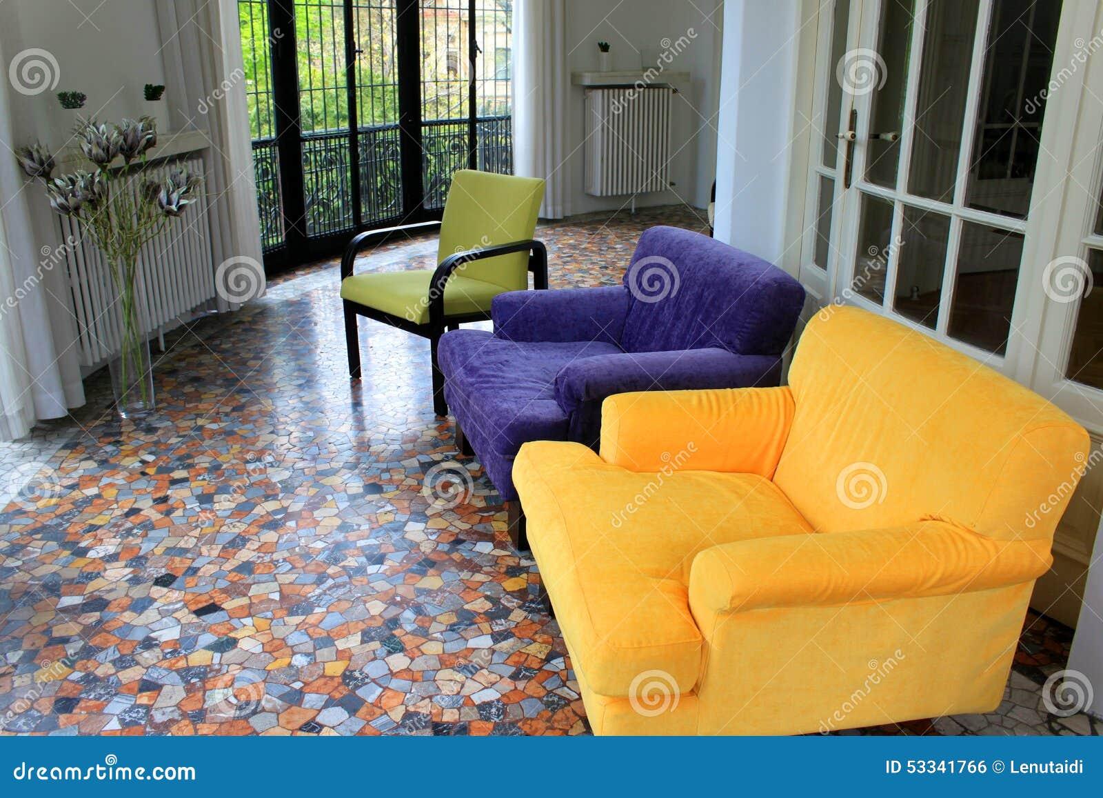 Salon pour la relaxation