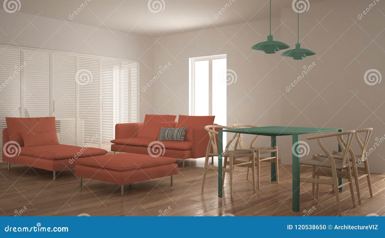 La Salon Porte Coulissante Avec Table Moderne Propre Et La zUpSMV
