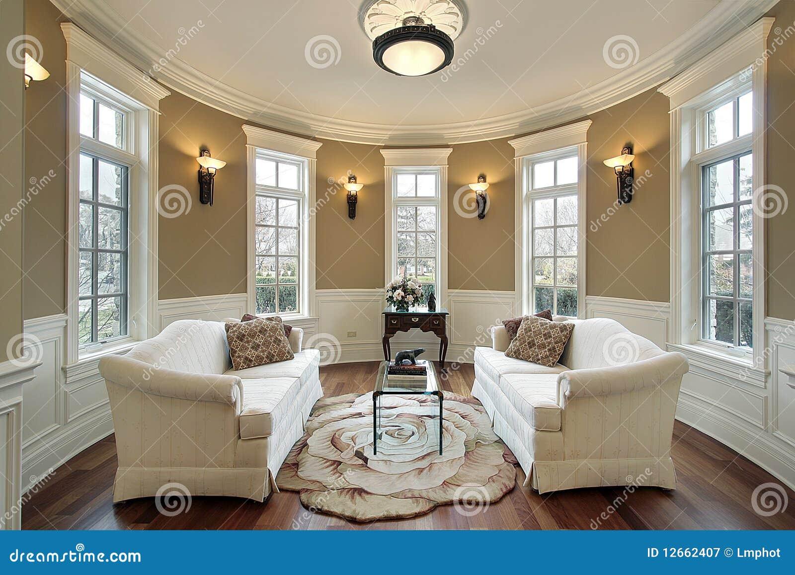 Salone con gli scones di illuminazione immagine stock immagine