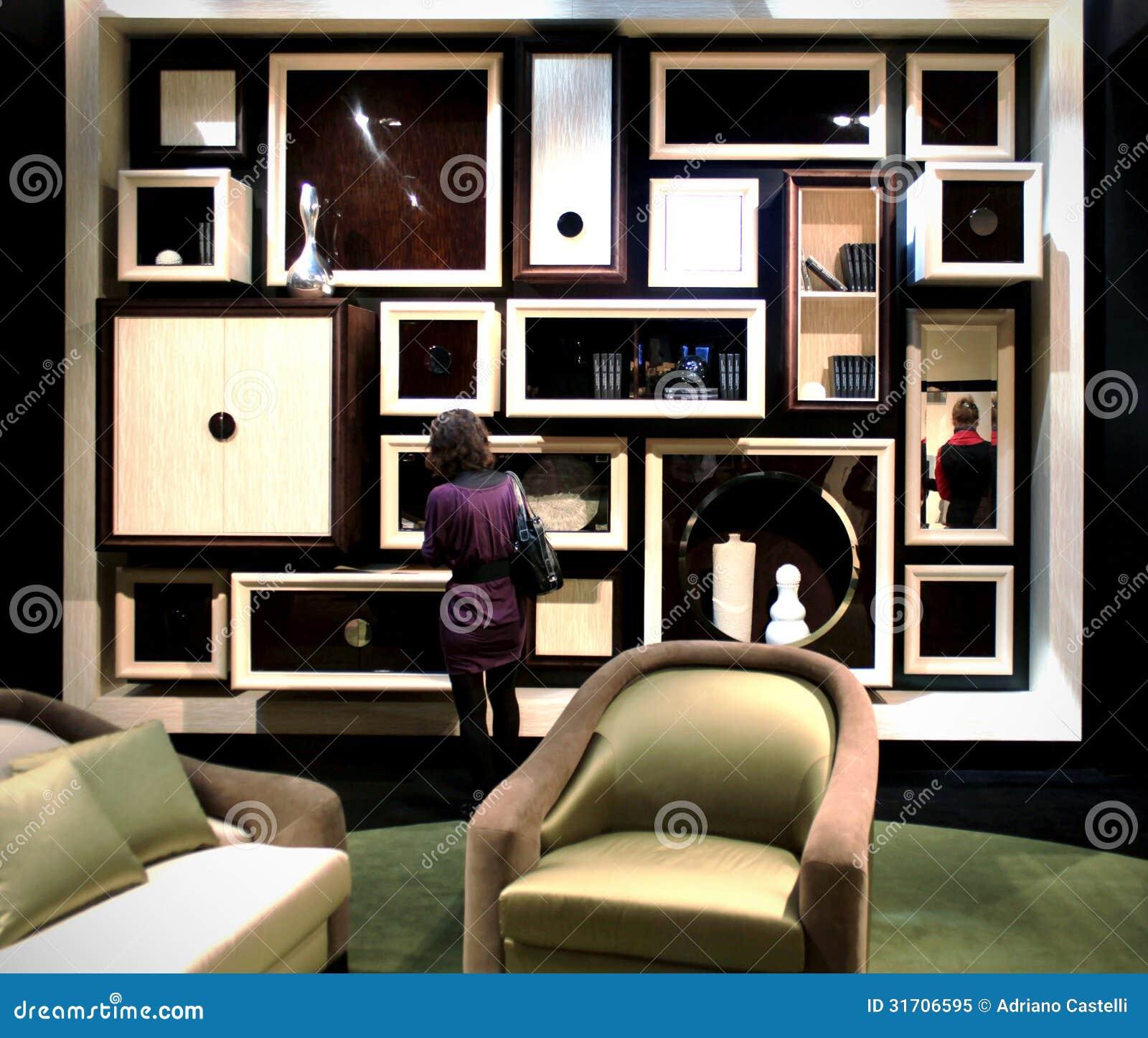 Salone del mobile editorial image image 31706595 for Interior design solutions