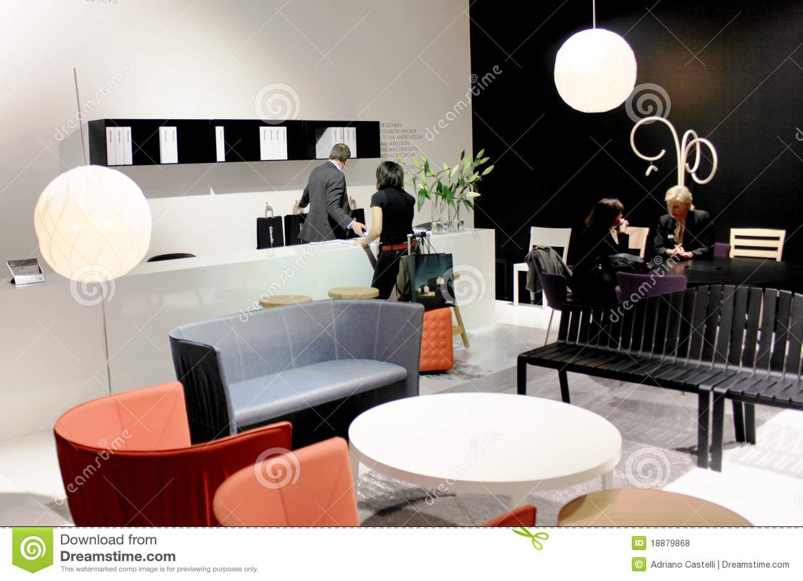 Salone internazionale del mobile 2010 fotografia stock for Salone del mobile prezzi