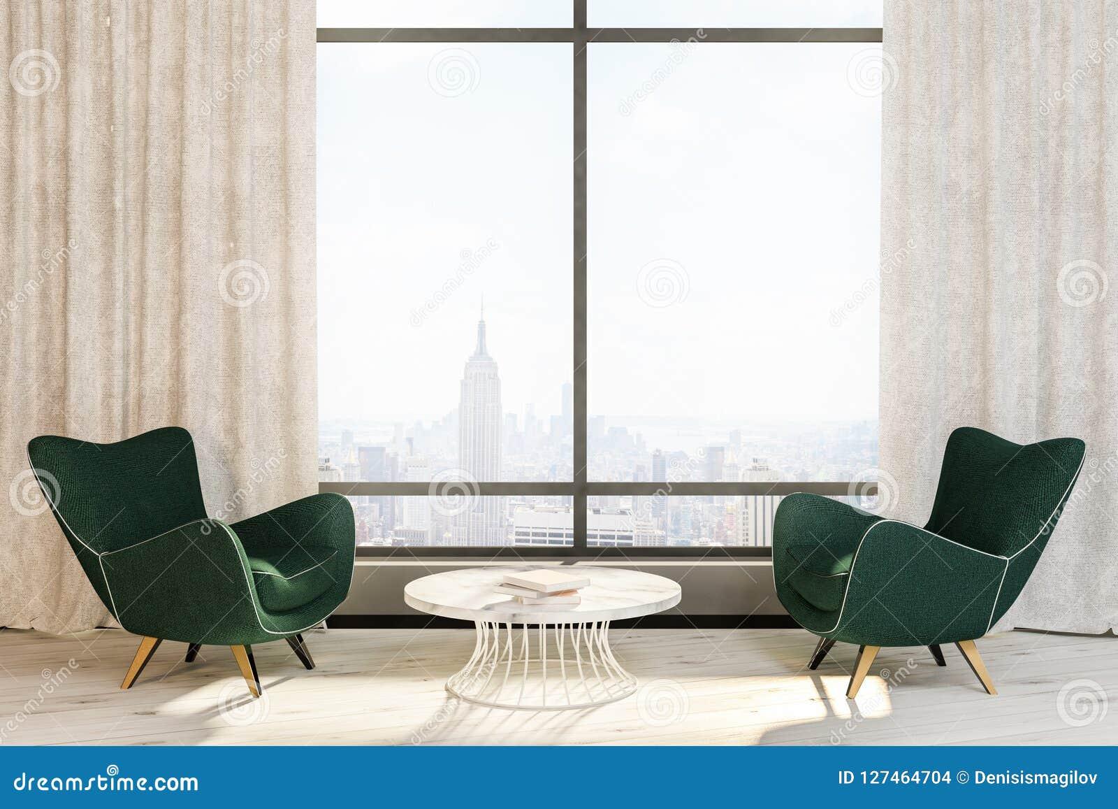 Tavolino Salotto Verde : Salone verde del tavolino da salotto delle poltrone finestra