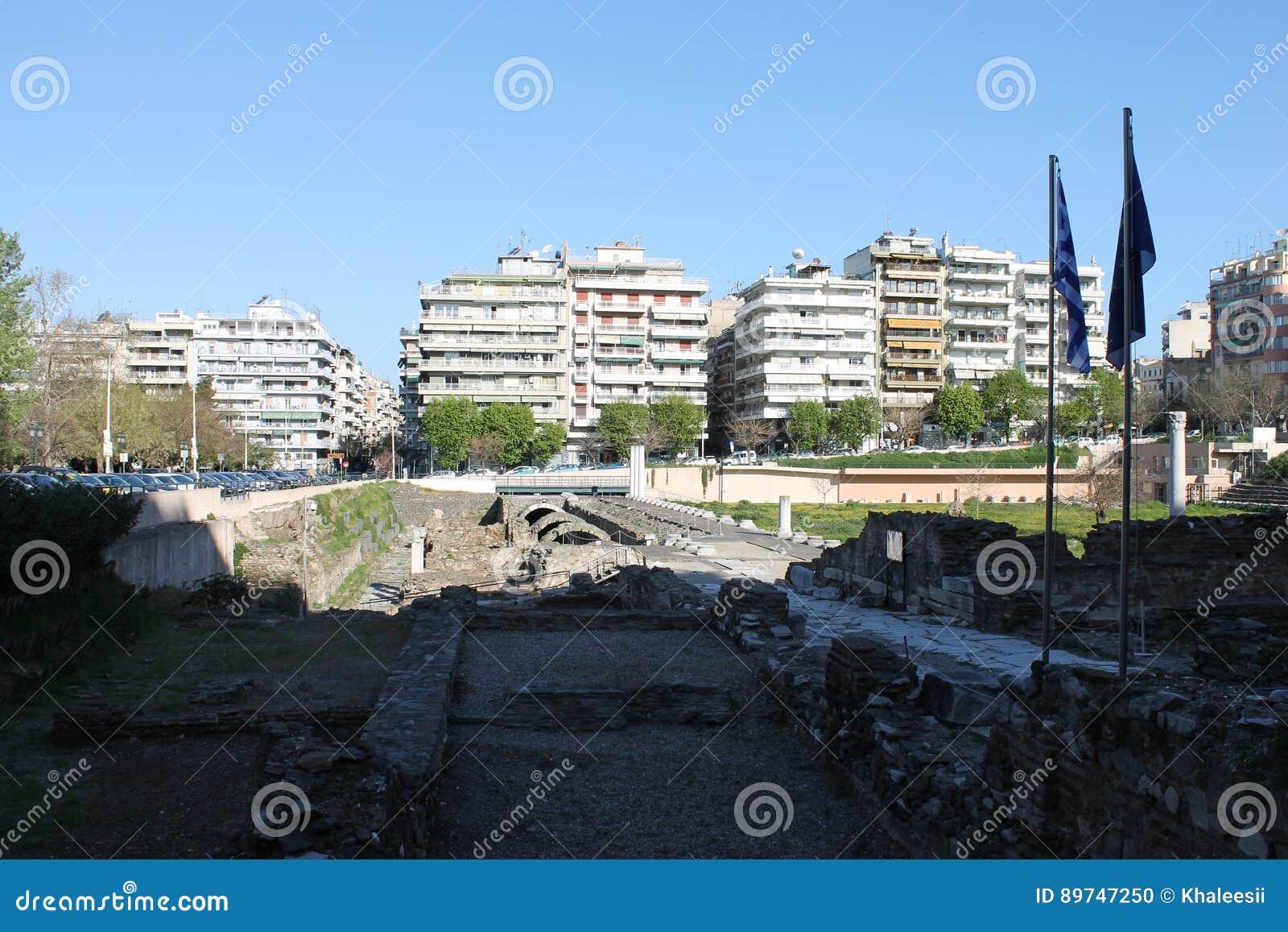 SALONIKI miasto w Grecja SALONIKI