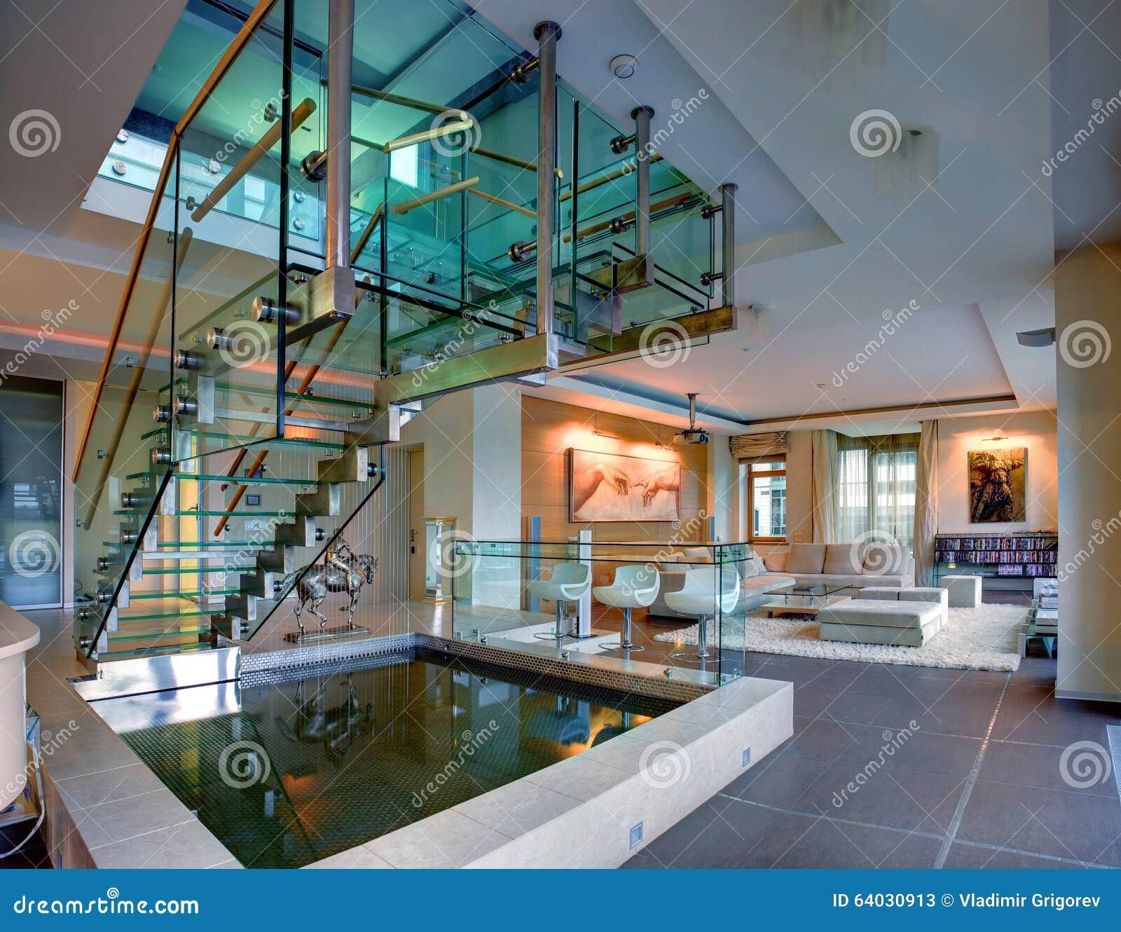 Salons dans une maison deux tages d 39 lite d 39 appartement for Appartement dans maison