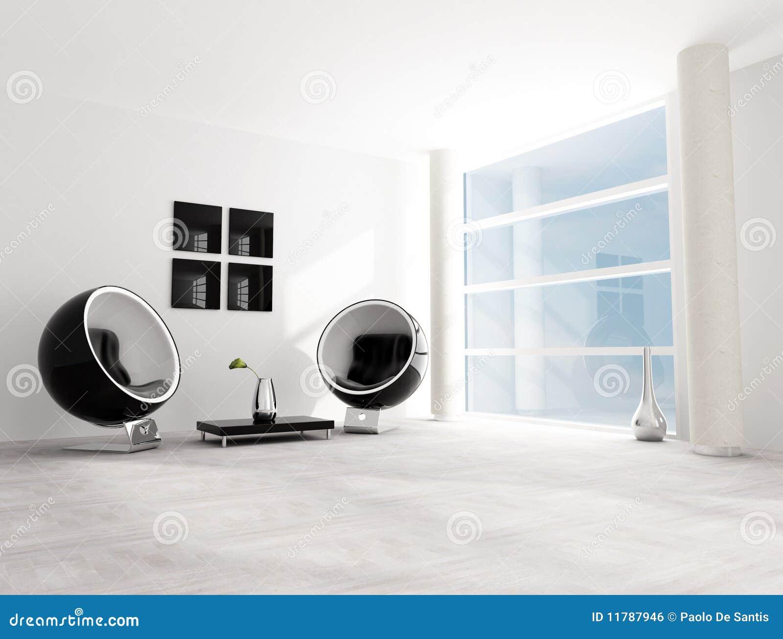 Salotto Bianco Nero ~ Idee per il design della casa