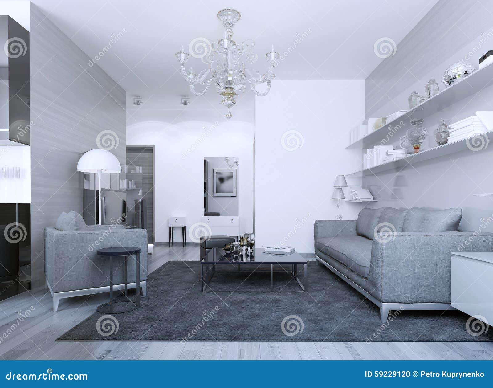 Salotto Moderno Elegante : Salotto gotico moderno accogliente illustrazione di stock