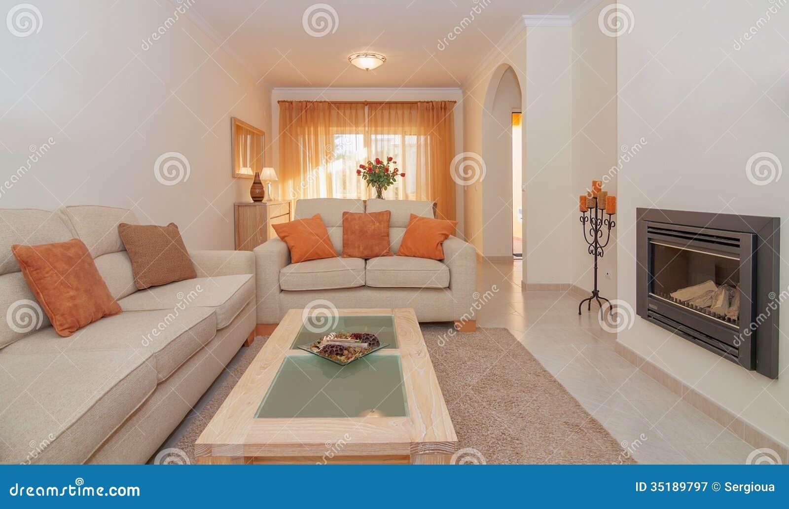 Salotto Antico Con Camino : Salotto lussuoso che pranza salone con il camino per