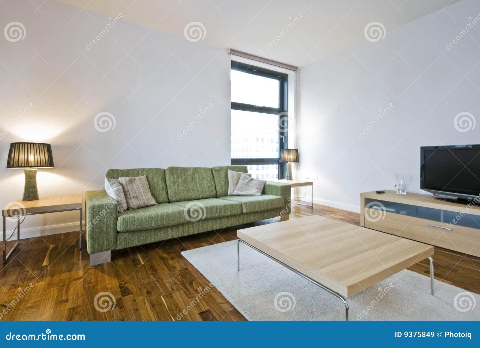 Salotto Moderno Verde : Salotto moderno immagine stock immagine di pavimentazione