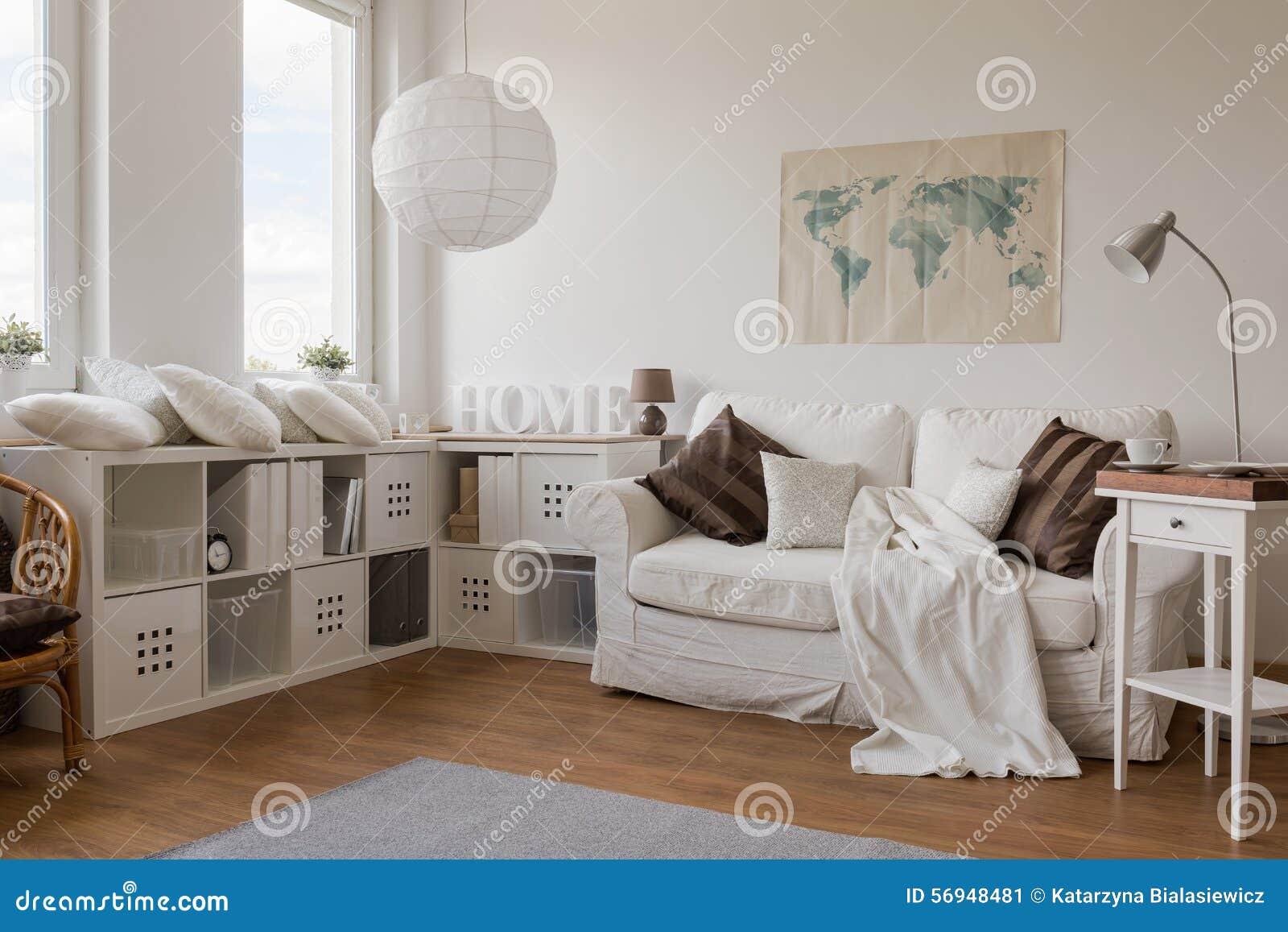 Salotto Moderno Bianco : Salotto moderno bianco immagine stock immagine di dimora