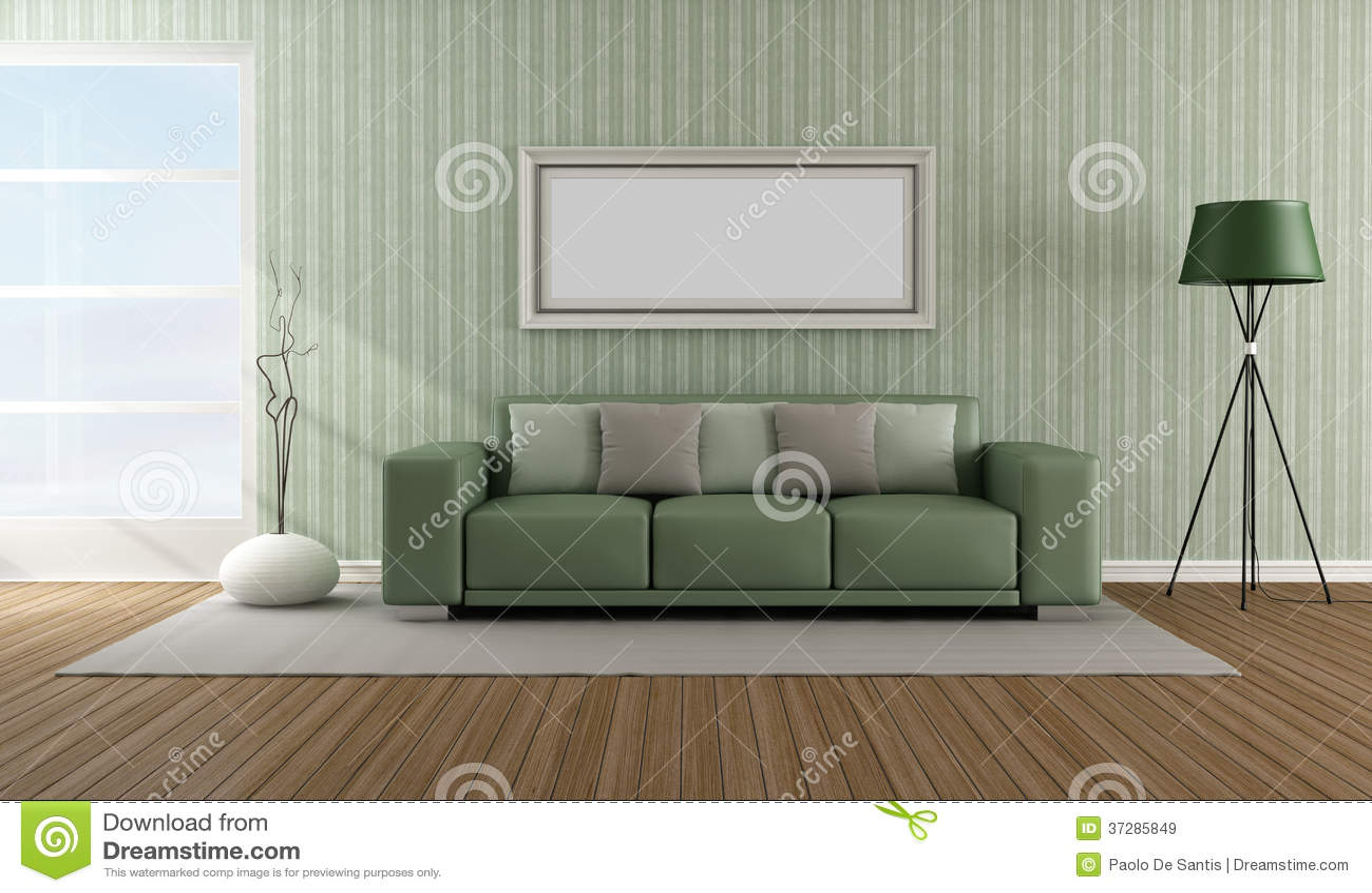 Salotto moderno elegante immagini stock libere da diritti for Salotto elegante