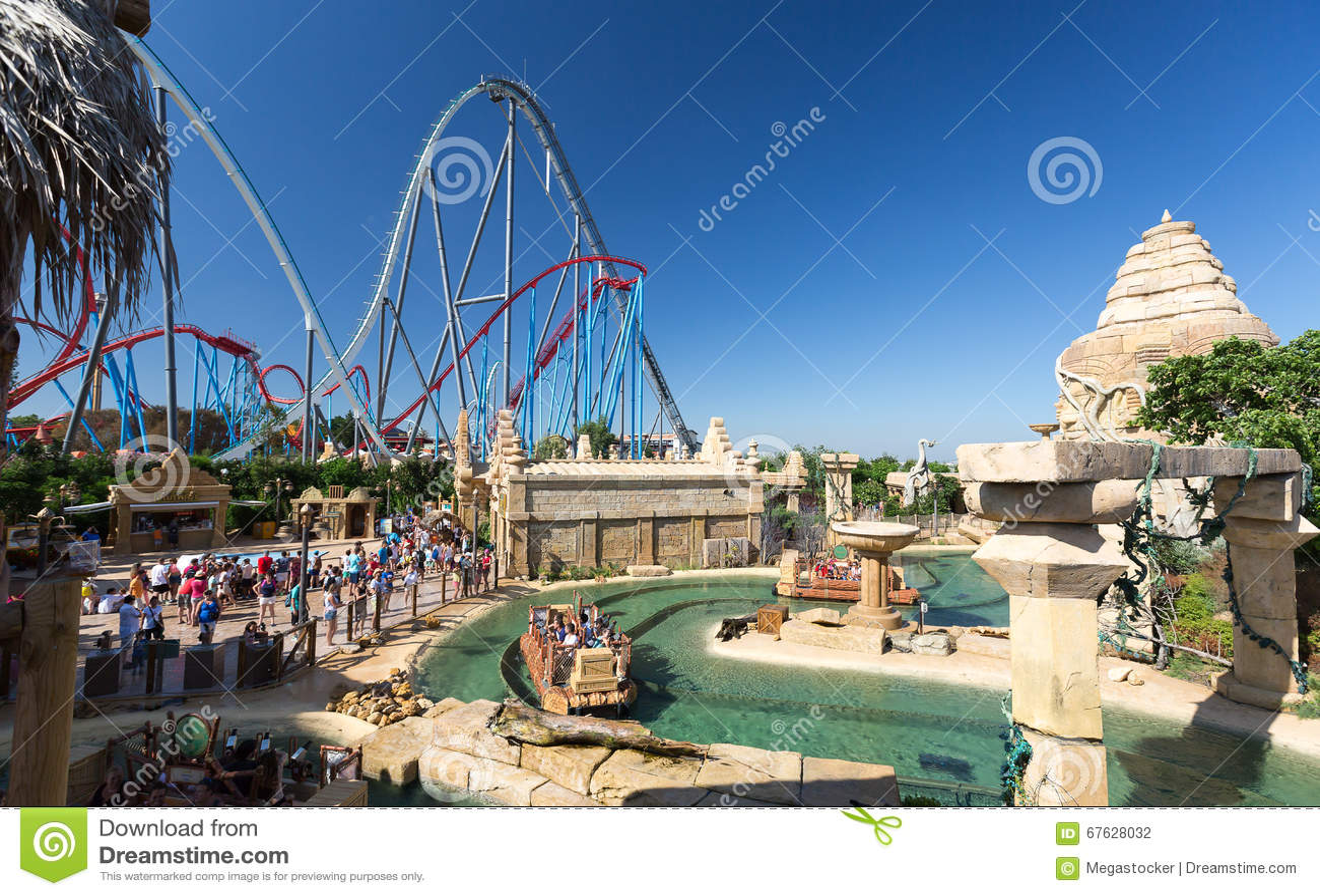 Parc attraction espagne 10 parcs d attractions ne pas - Barcelone parc d attraction port aventura ...