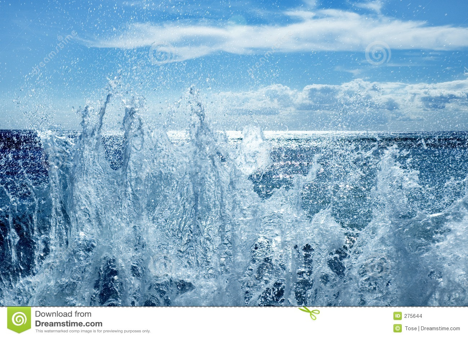 Salpicar ondas