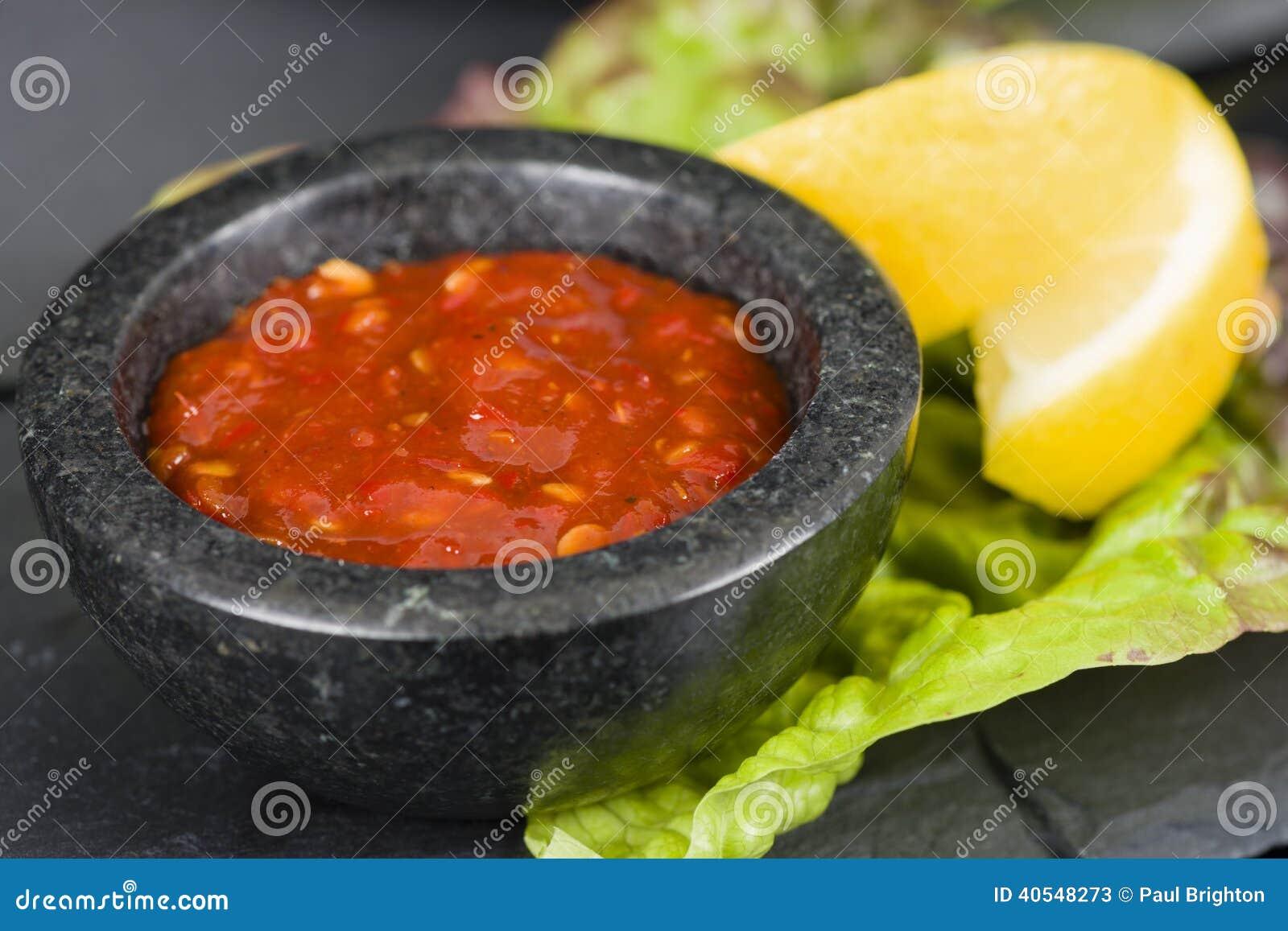 Salsa di peperoncini rossi