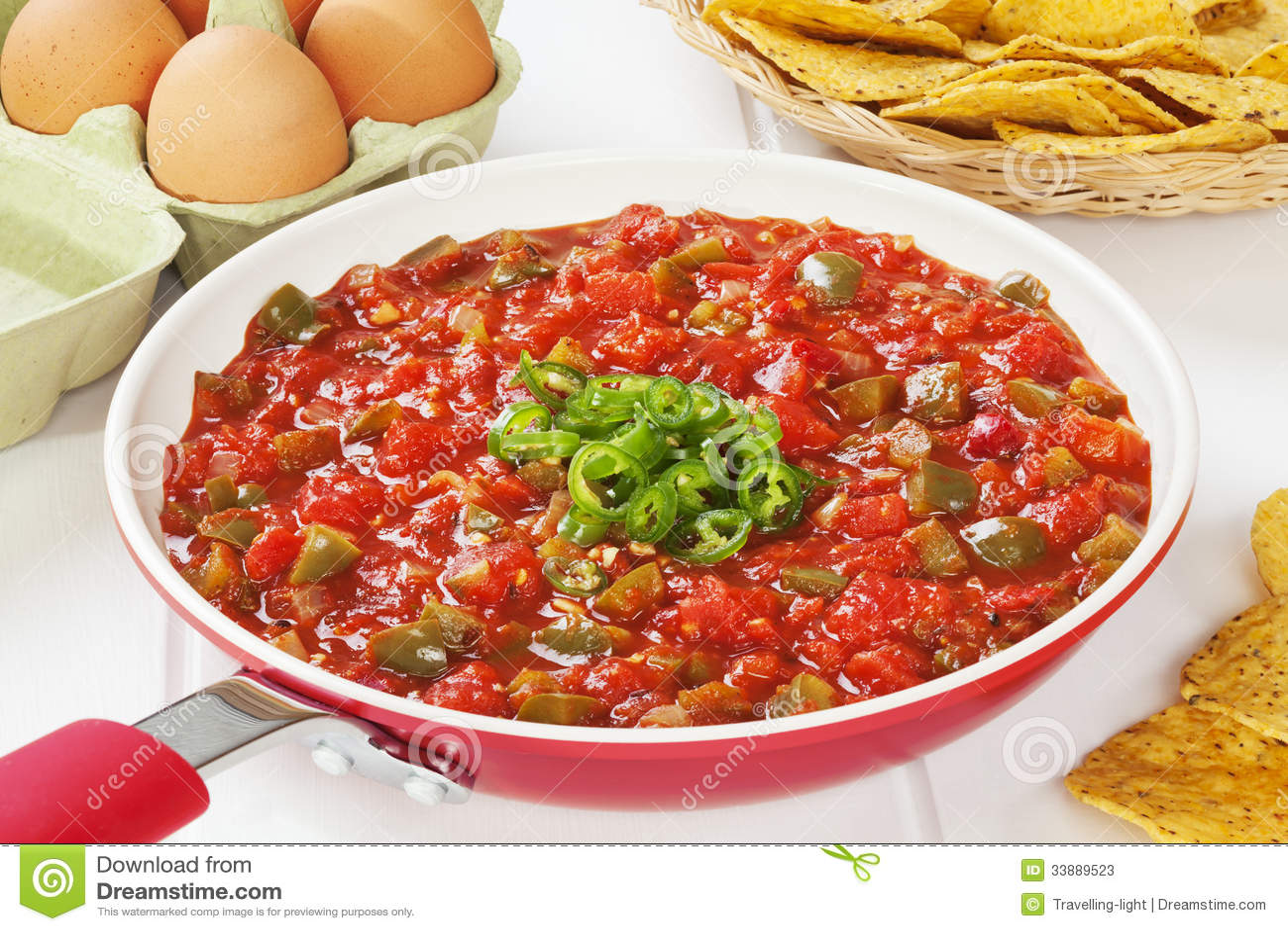 Mexican Food Tomato Salsa