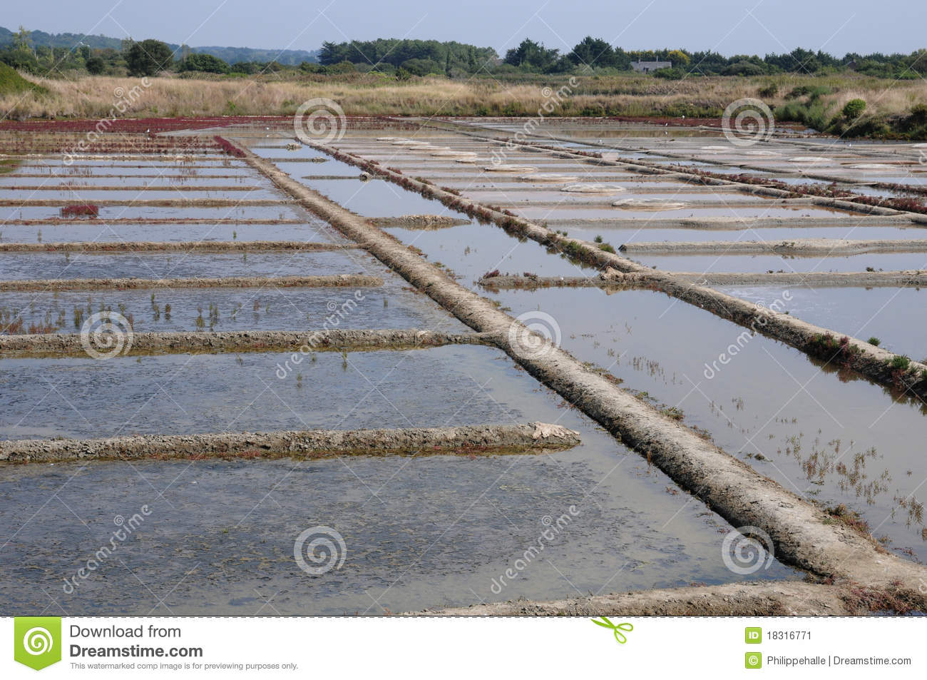 Salt evaporation pond stock image image of water for Design of evaporation pond