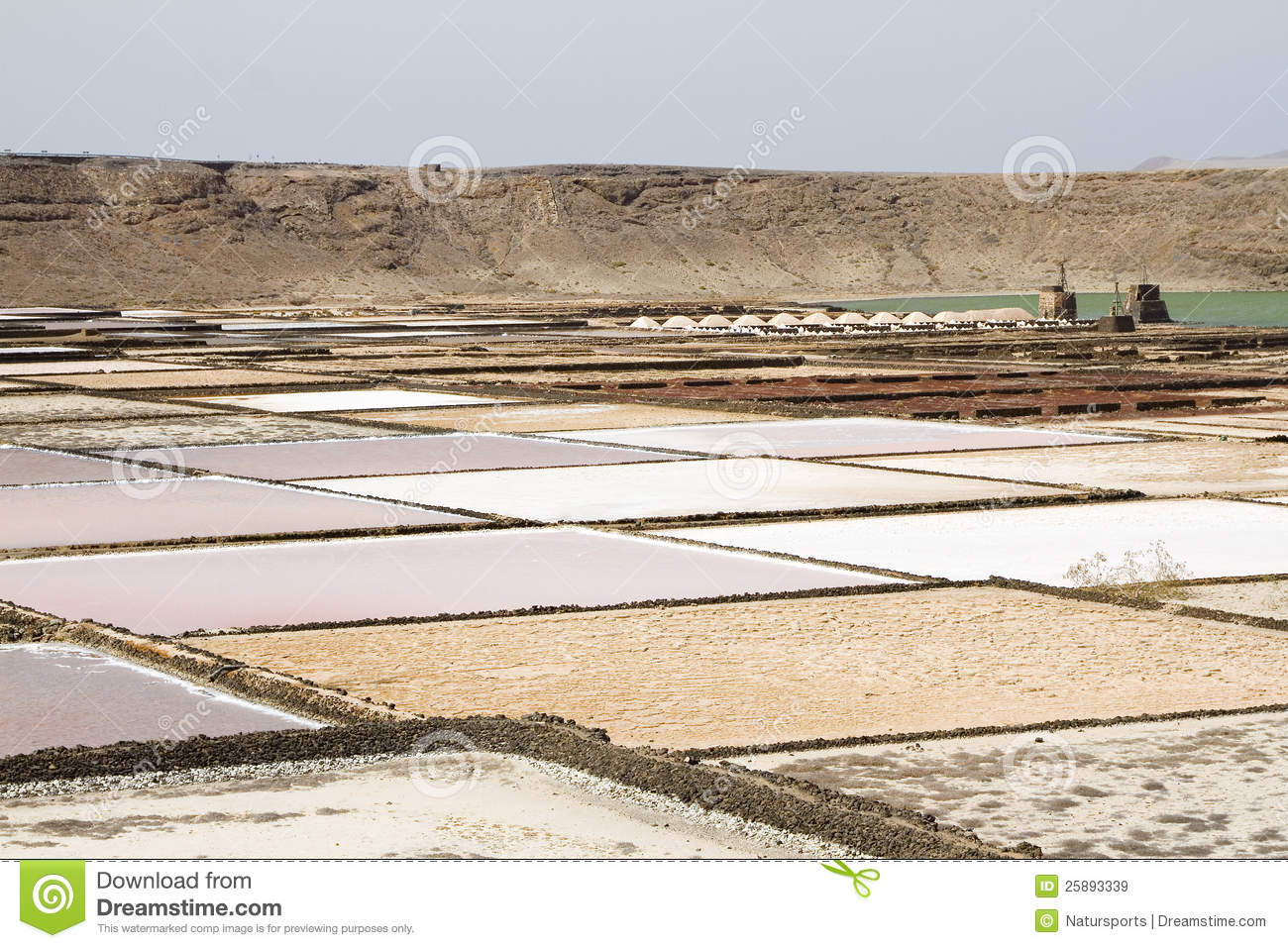 Salt evaporation pond royalty free stock images image for Design of evaporation pond