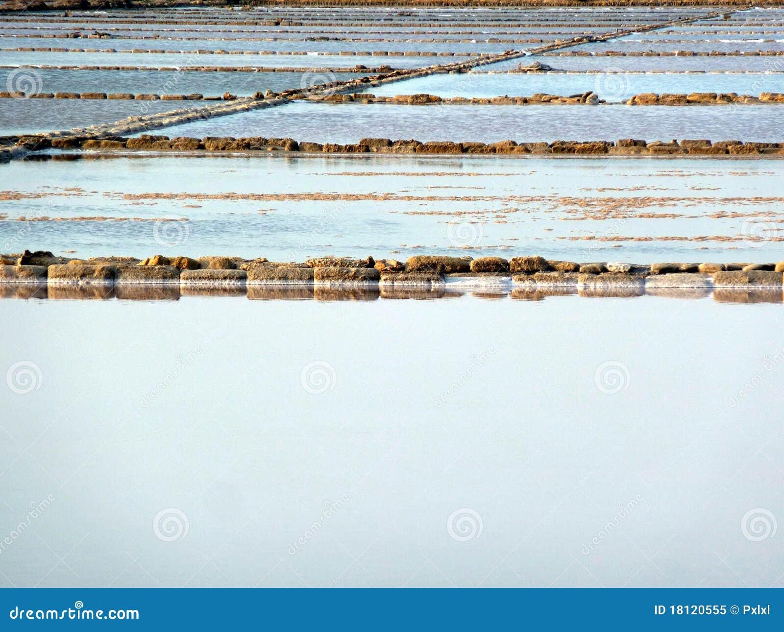 Salt evaporation ponds royalty free stock photo image for Design of evaporation pond
