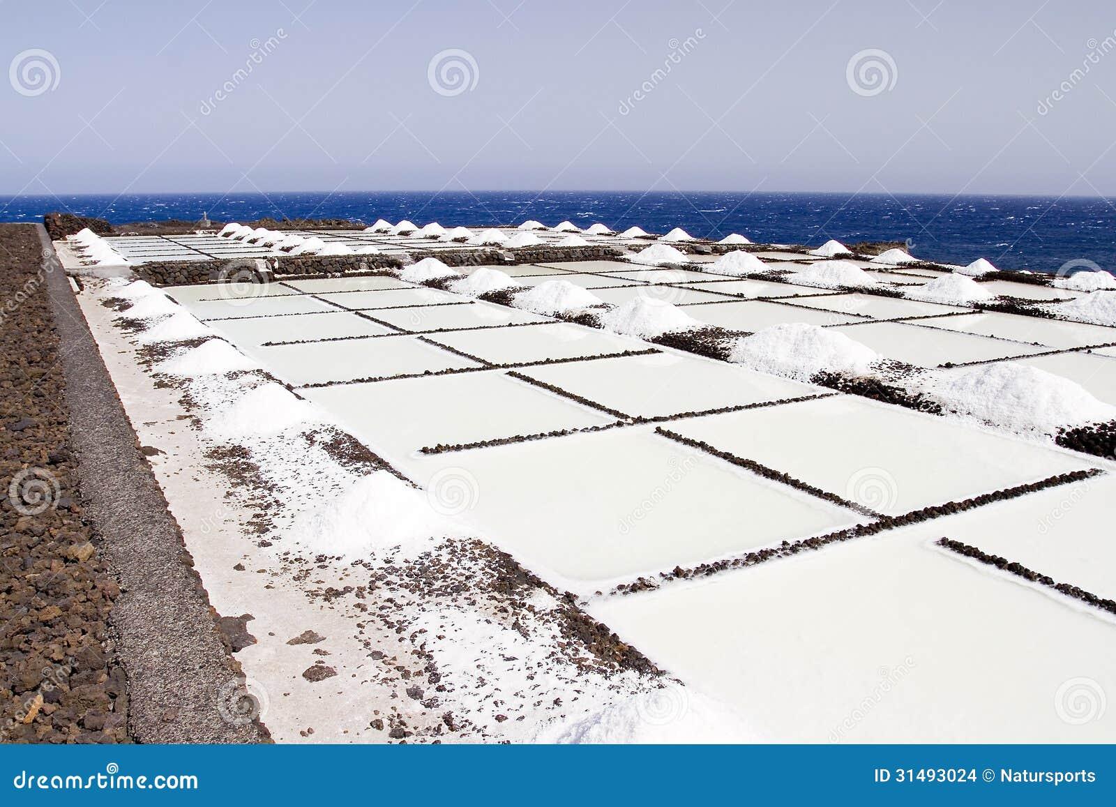 Salt evaporation ponds stock images image 31493024 for Design of evaporation pond