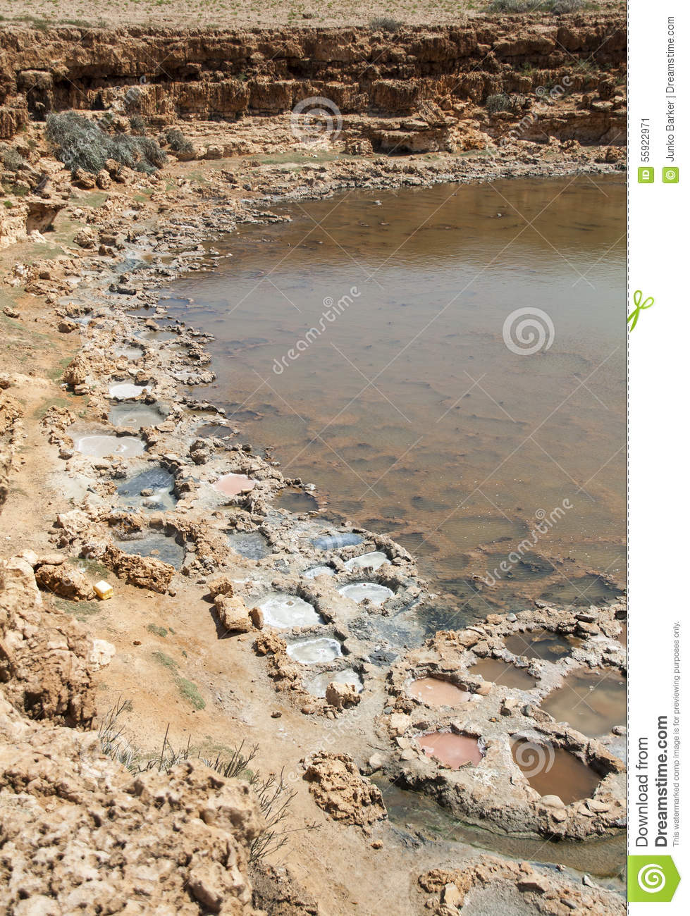 Salt evaporation ponds stock photo image 55922971 for Design of evaporation pond