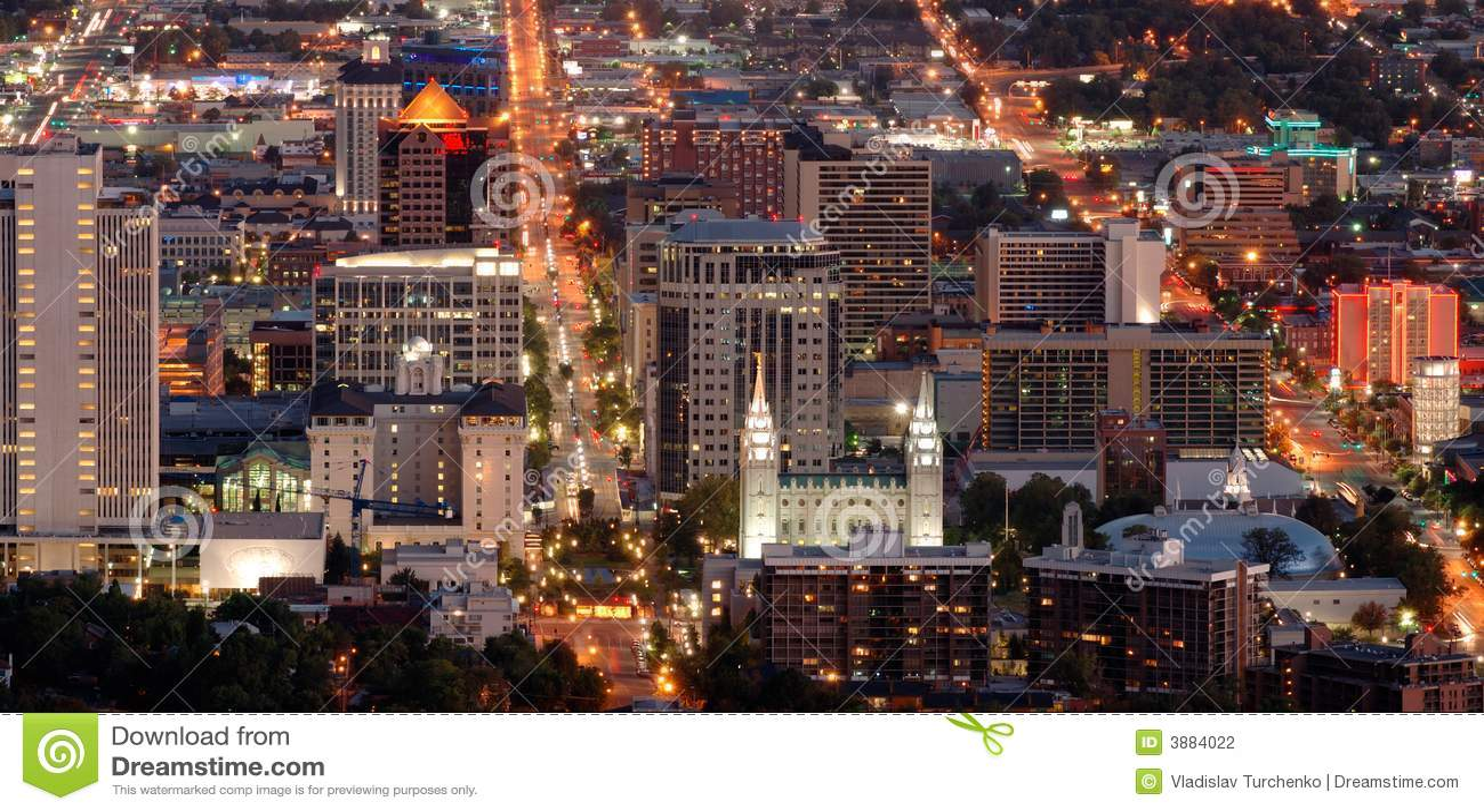 Salt Lake City del centro