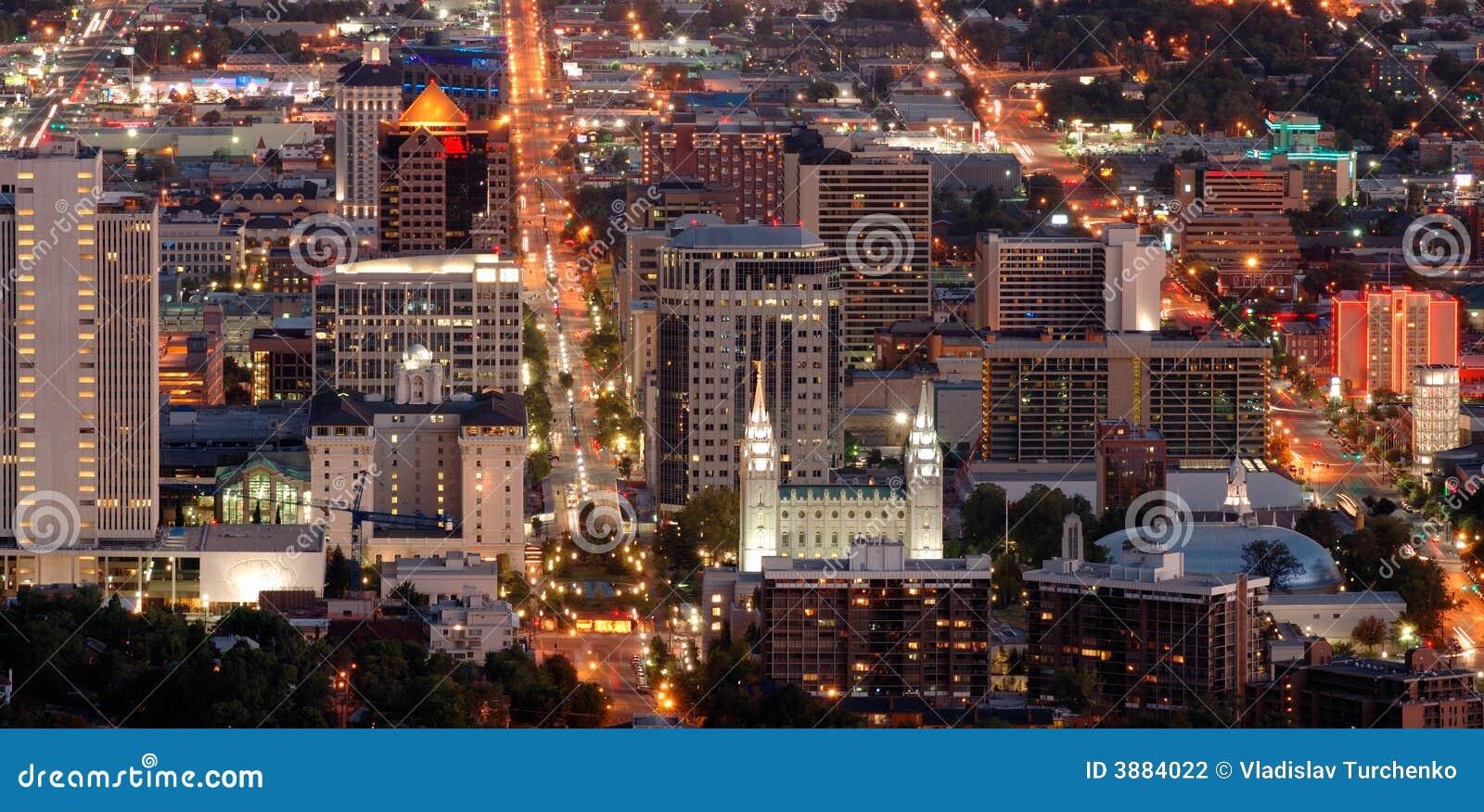 Salt Lake City downtown