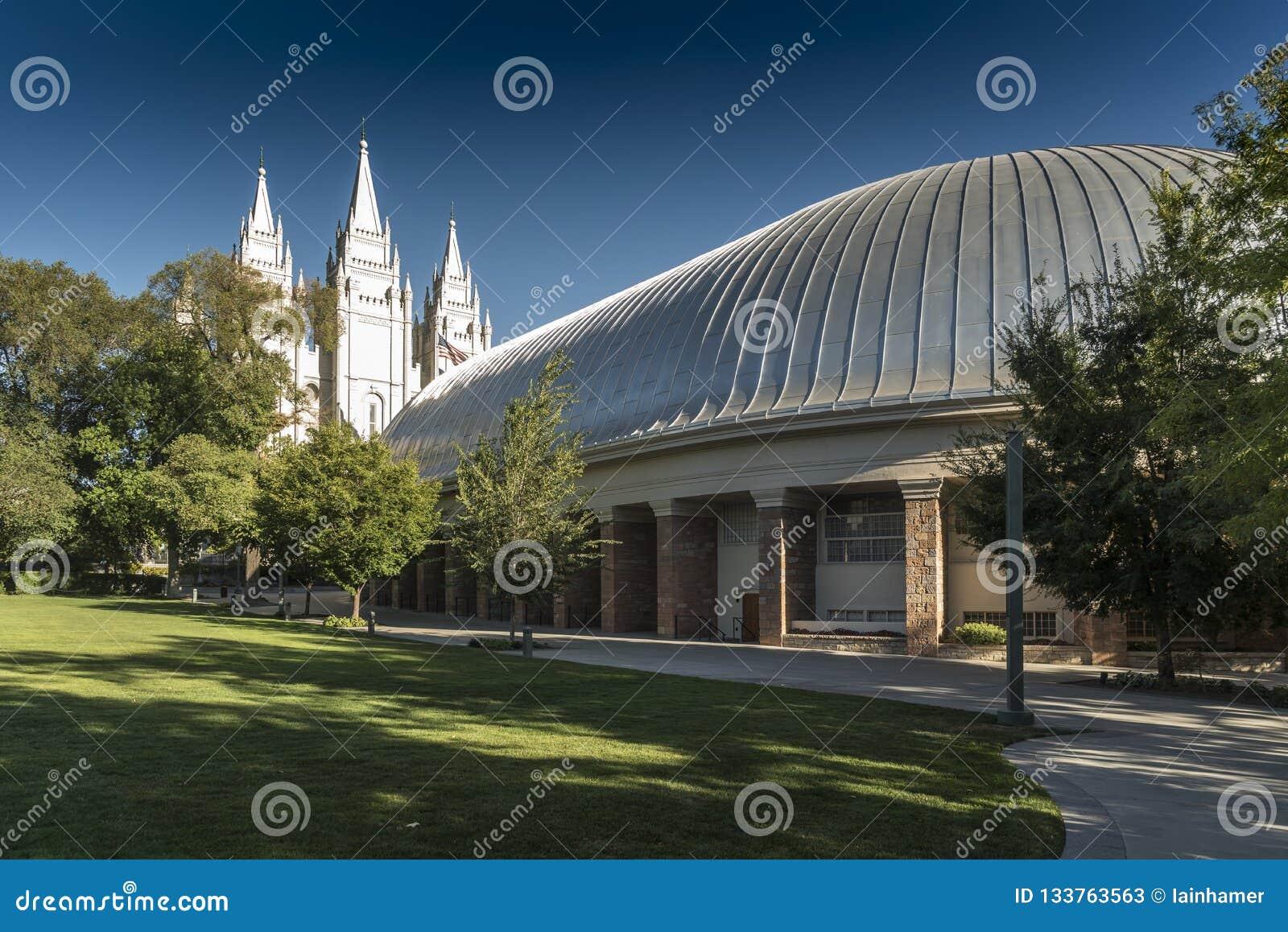 Salt Lake City Tabernacle i świątyni świątyni kwadrat Salt Lake City