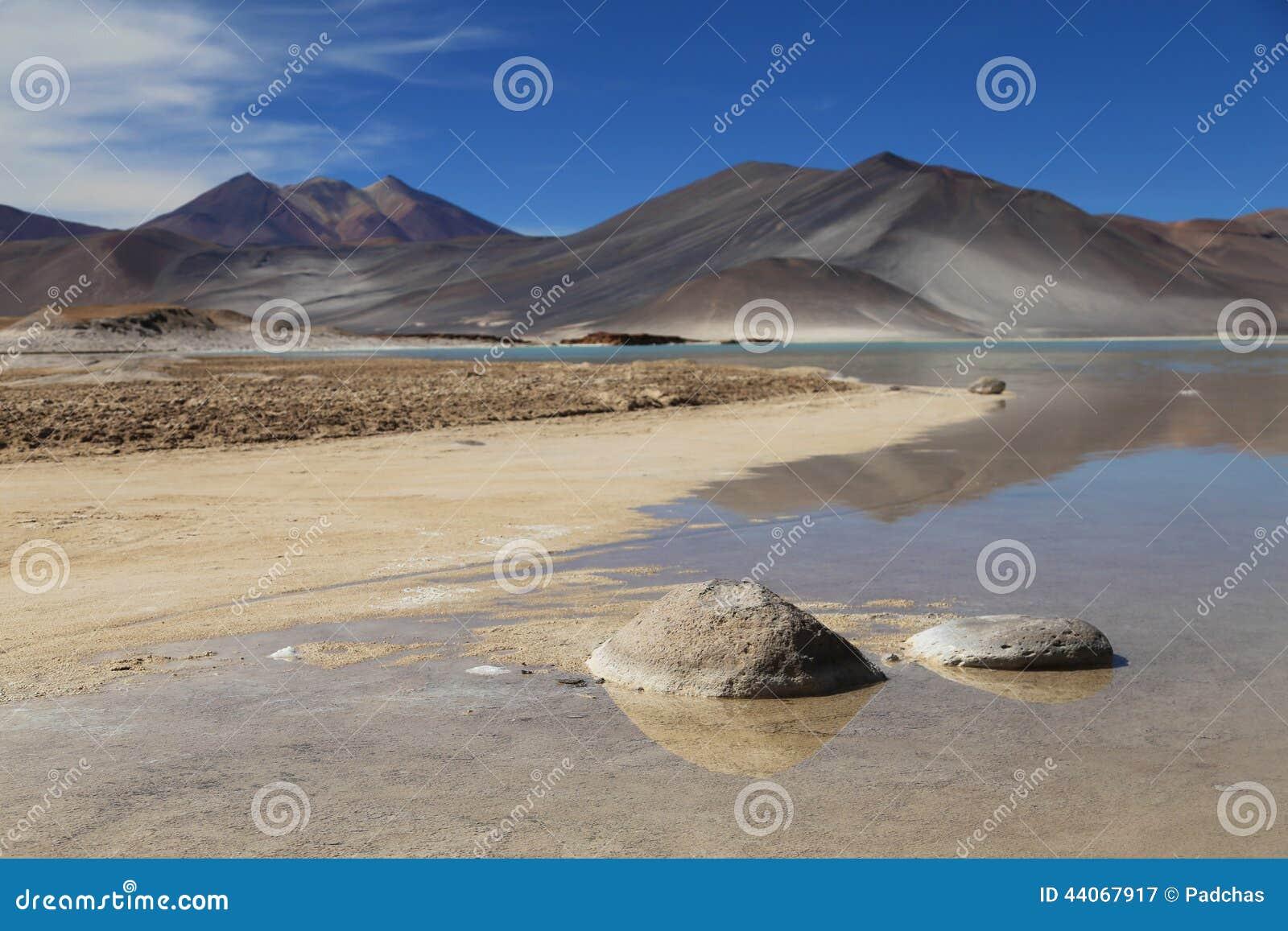 Salt Lake nel deserto di Atacama, Cile