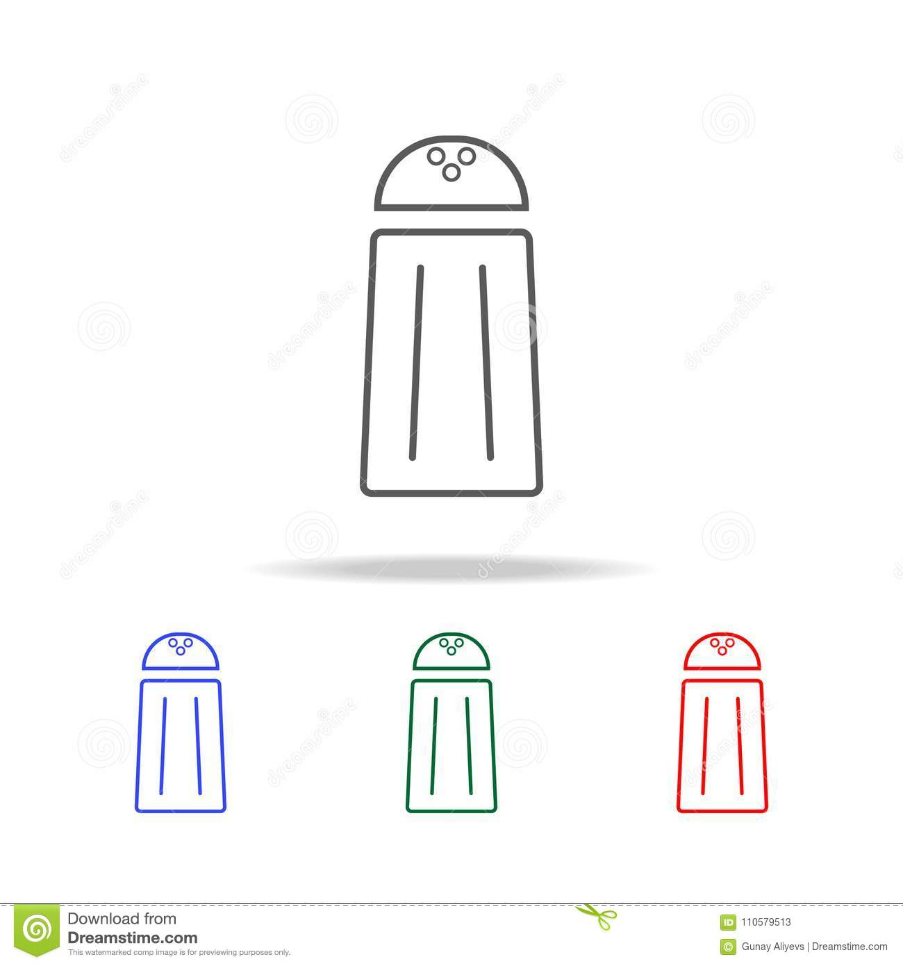 Salt Line Icon Elements In Multi Colored Icons For Mobile Concept And Web Apps Icons For Website Design And Development App Dev Stock Illustration Illustration Of Icon Background 110579513