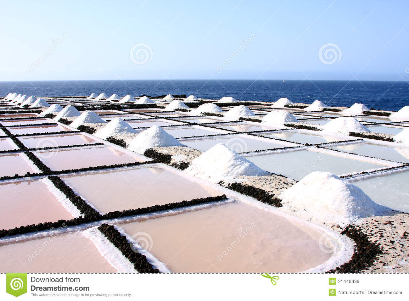 Salt evaporation ponds royalty free stock image image for Design of evaporation pond