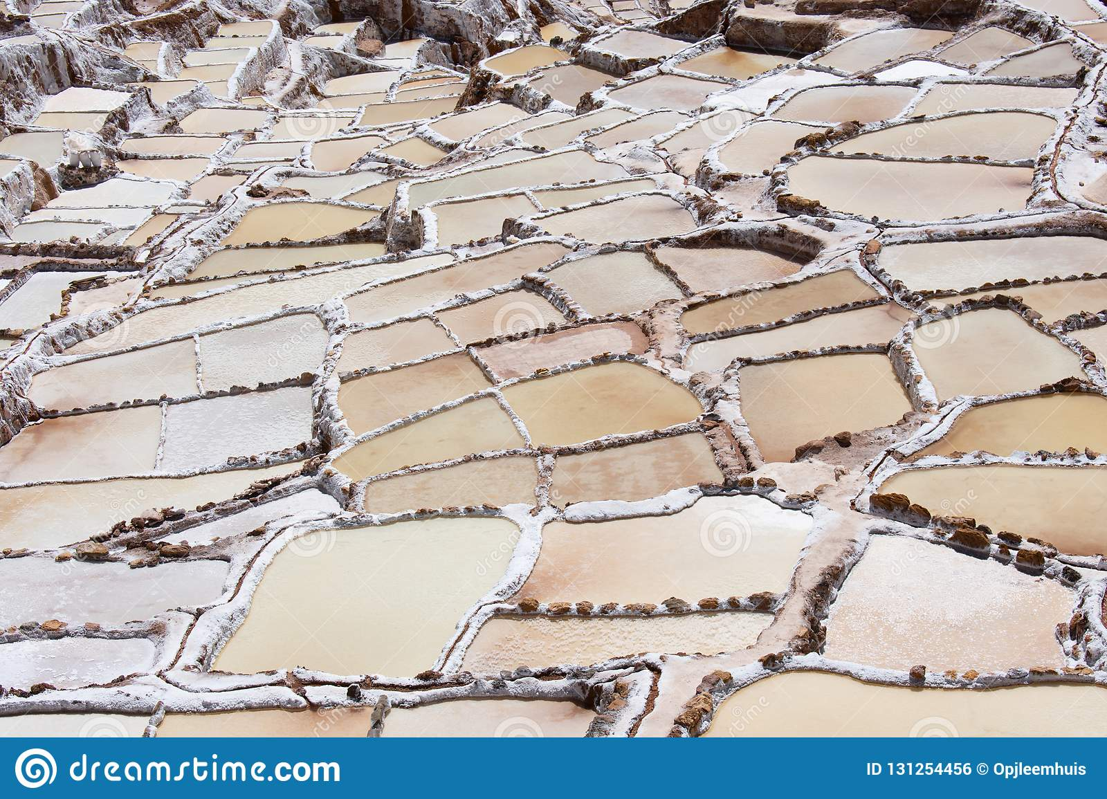 Salt Mines in the Sacred Valley of the Incas