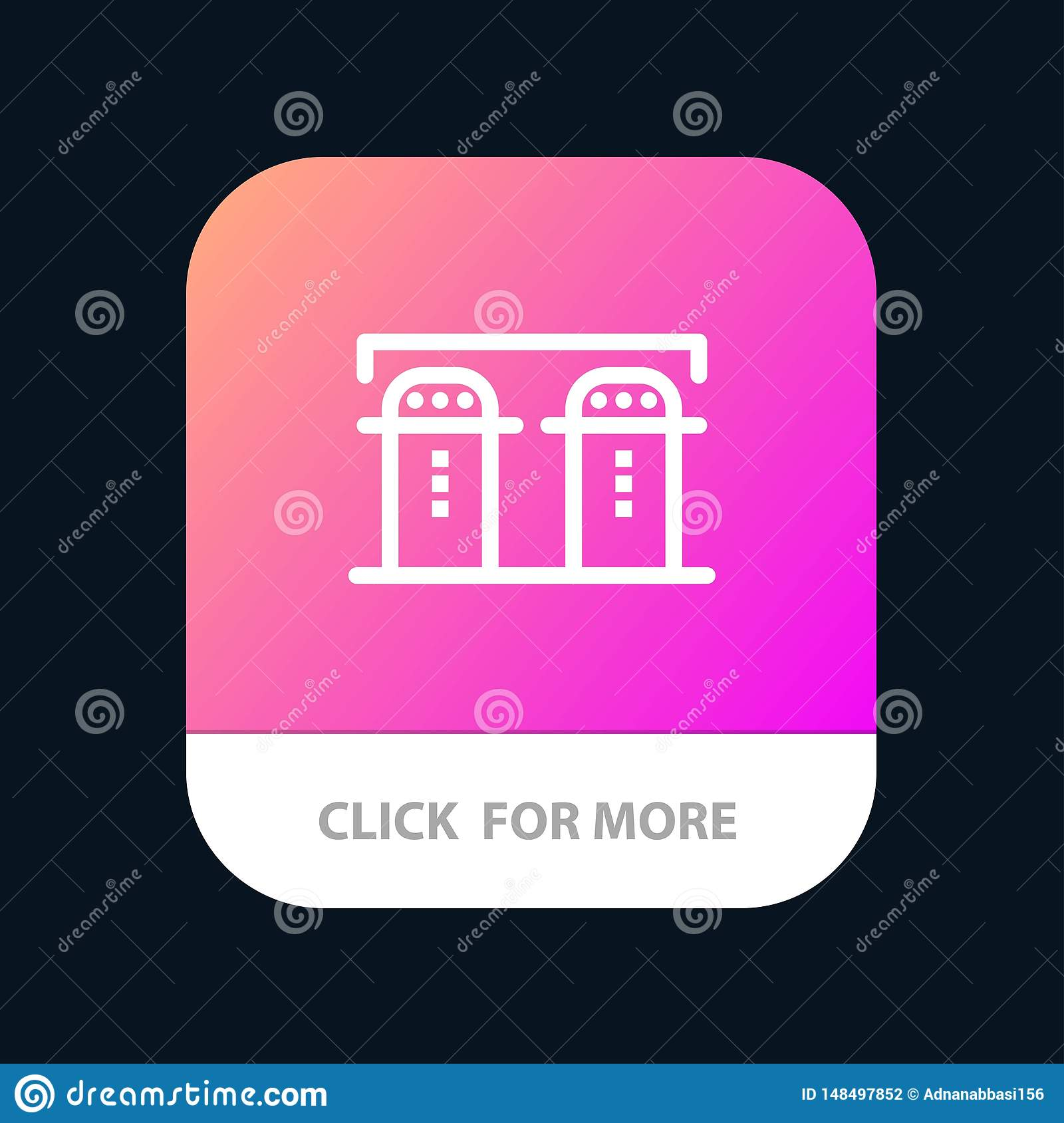 Salt Paper Bottle Spices Mobile App Button Android And Ios Line Version Stock Vector Illustration Of Cutlery Boat 148497852
