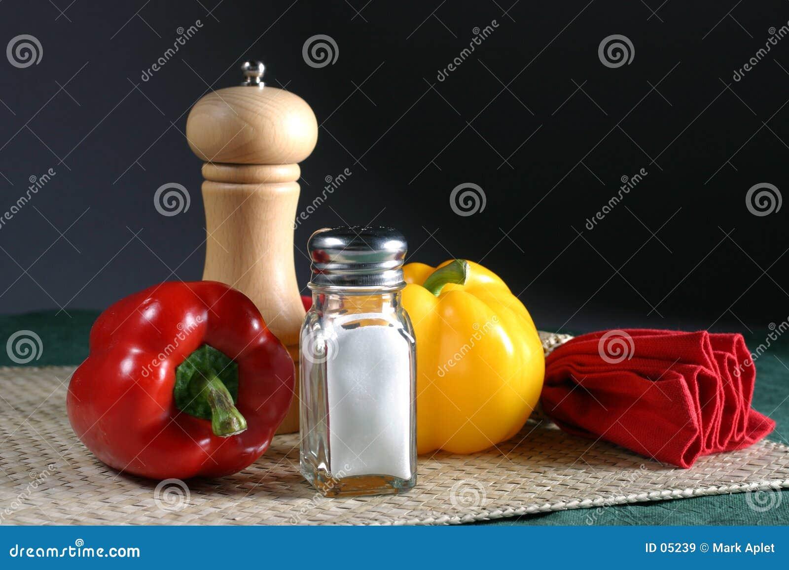 Salt peppar