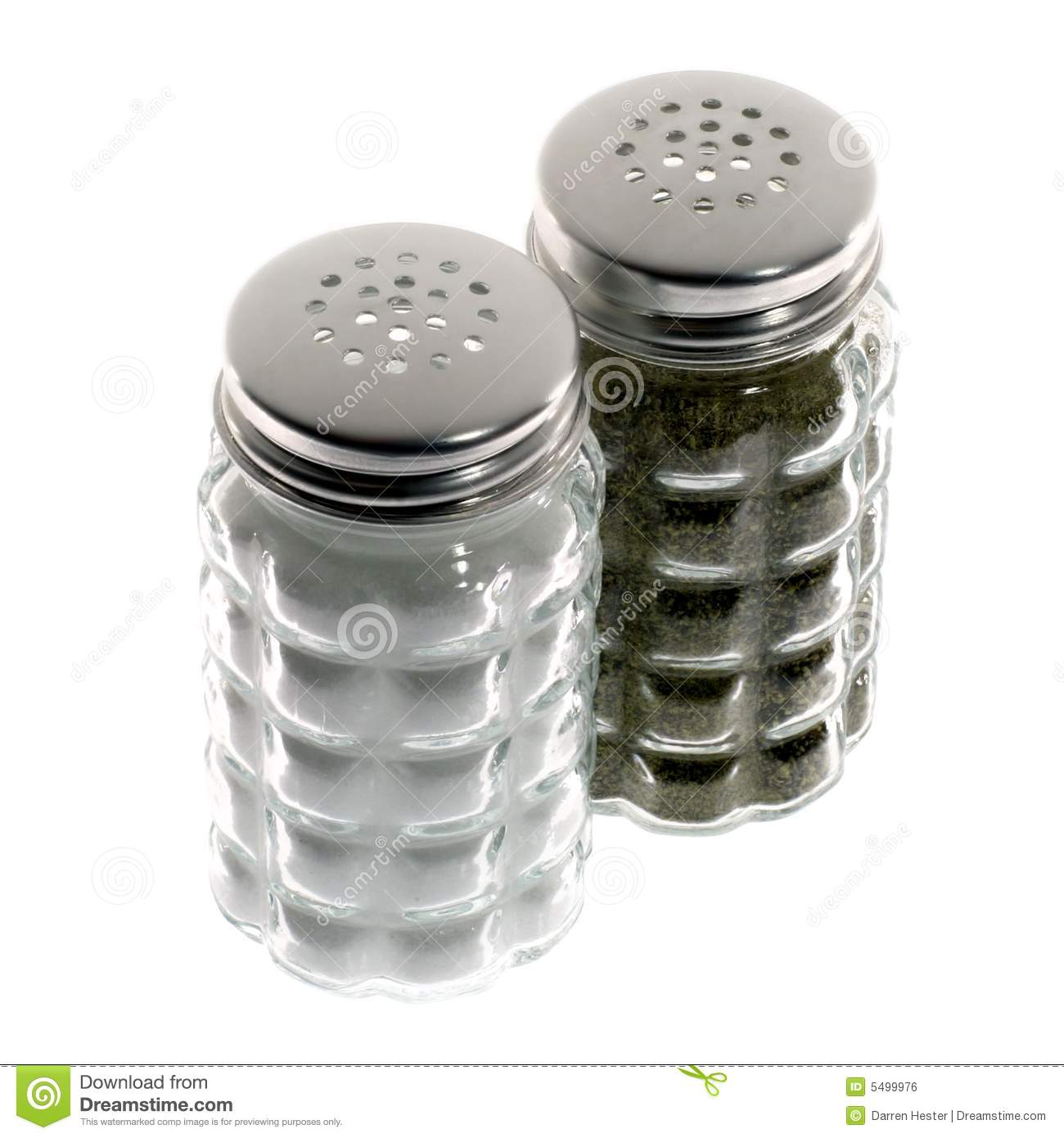 Salt And Pepper Shakers Royalty Free Stock Image Image