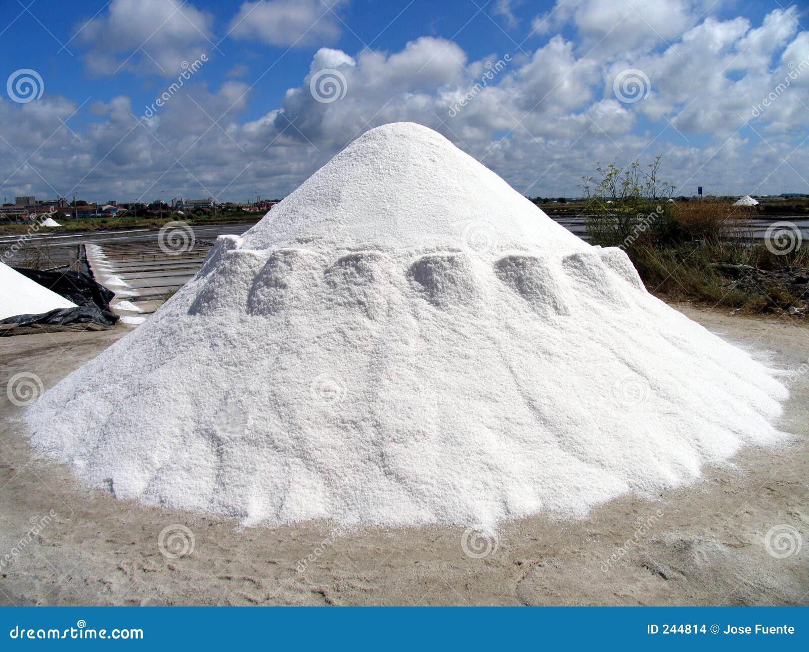 Salt stapel
