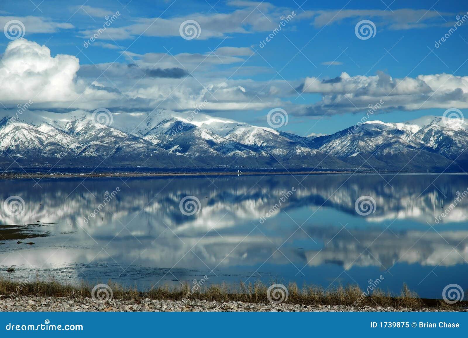 Salt stor lake