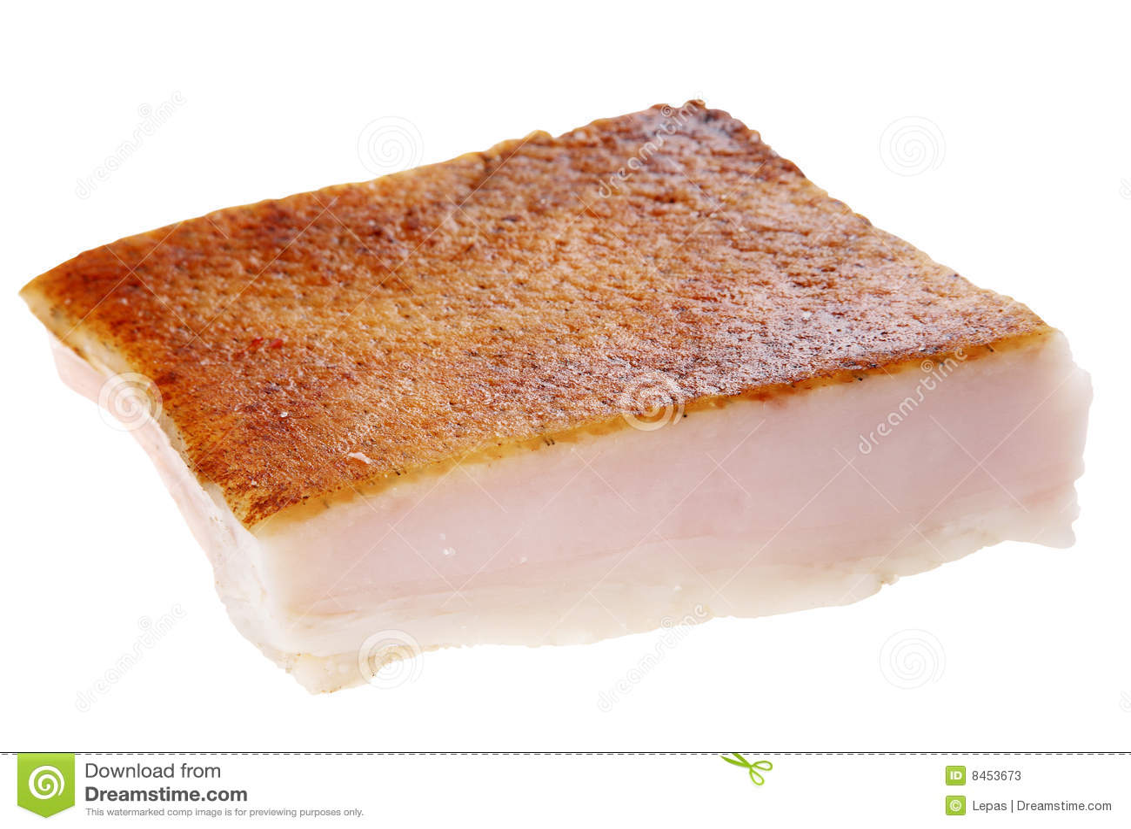 Saltad fet pork