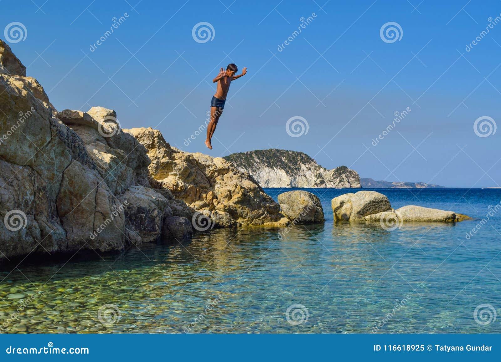 Salte no mar