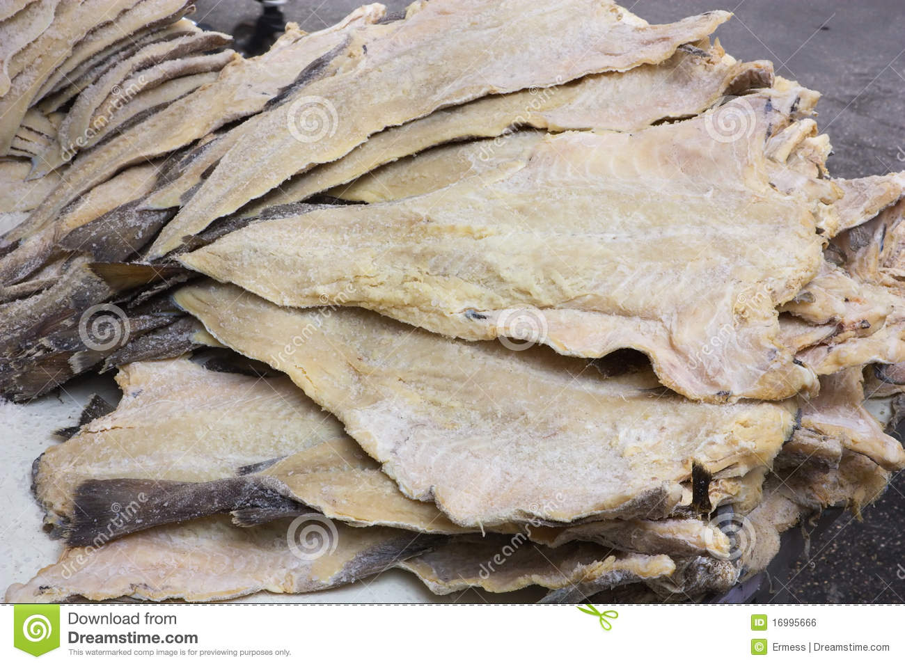 Salted cod royalty free stock image image 16995666 for Dried salted fish